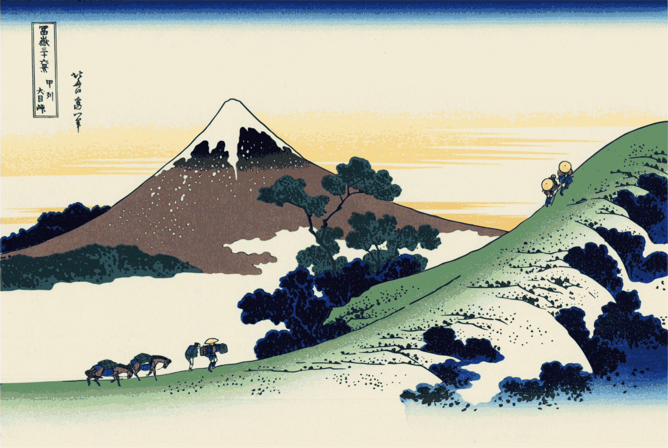 Hokusai-Mount Fuji-36-Views-41 by yamachem2