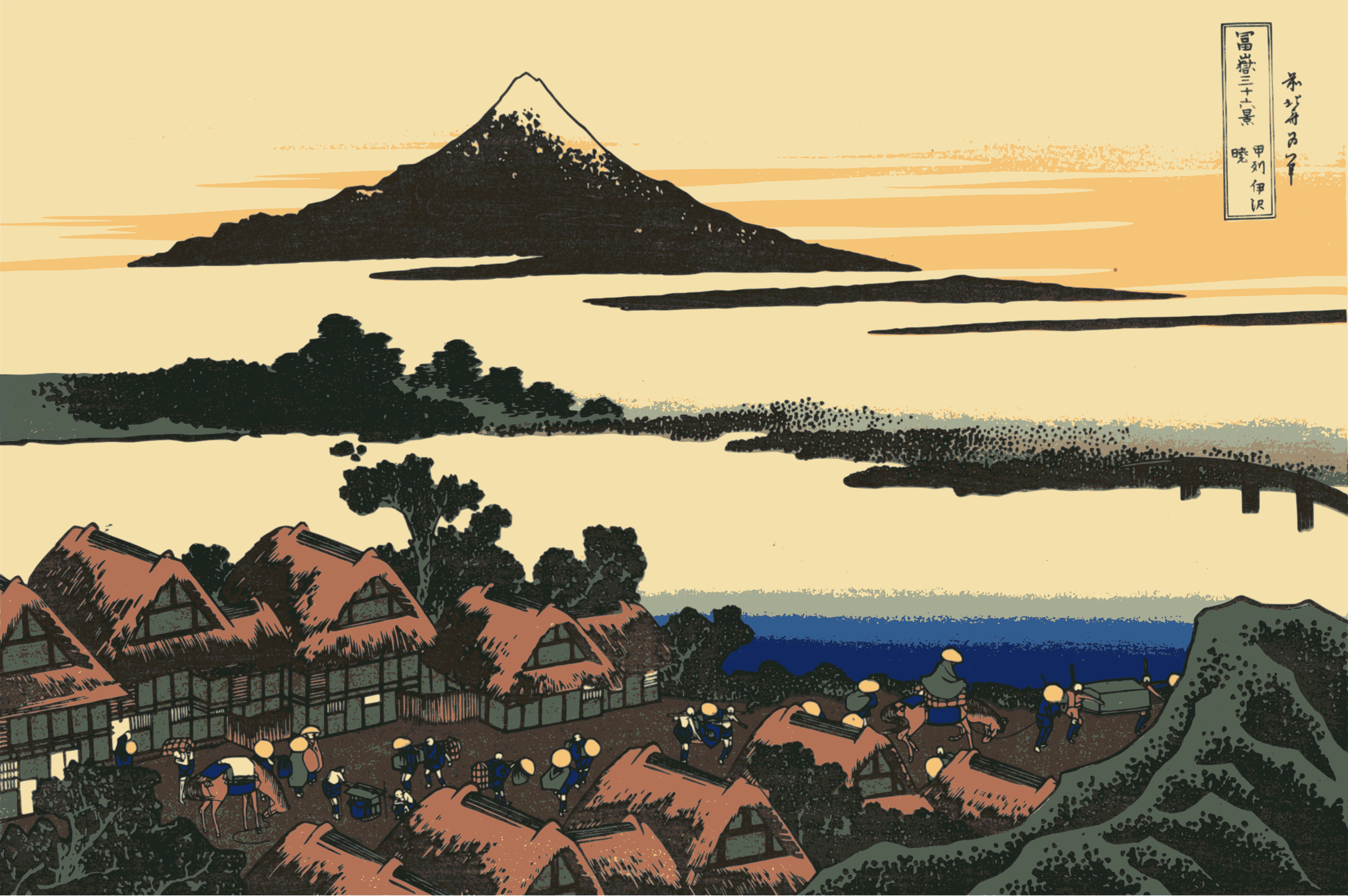 Hokusai-Mount Fuji-36-Views-43 by yamachem2