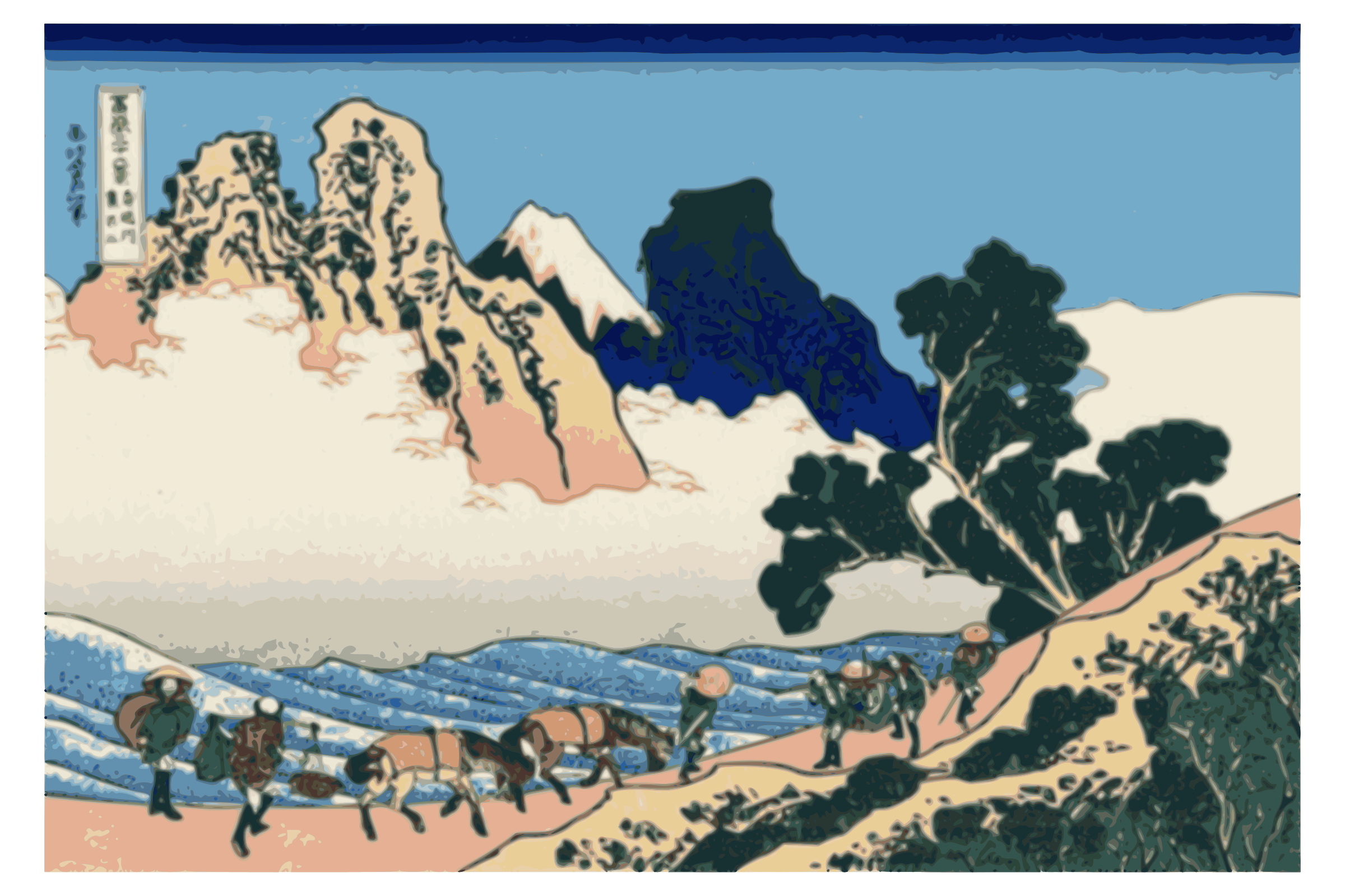 Hokusai-Mount Fuji-36-Views-46 by yamachem2