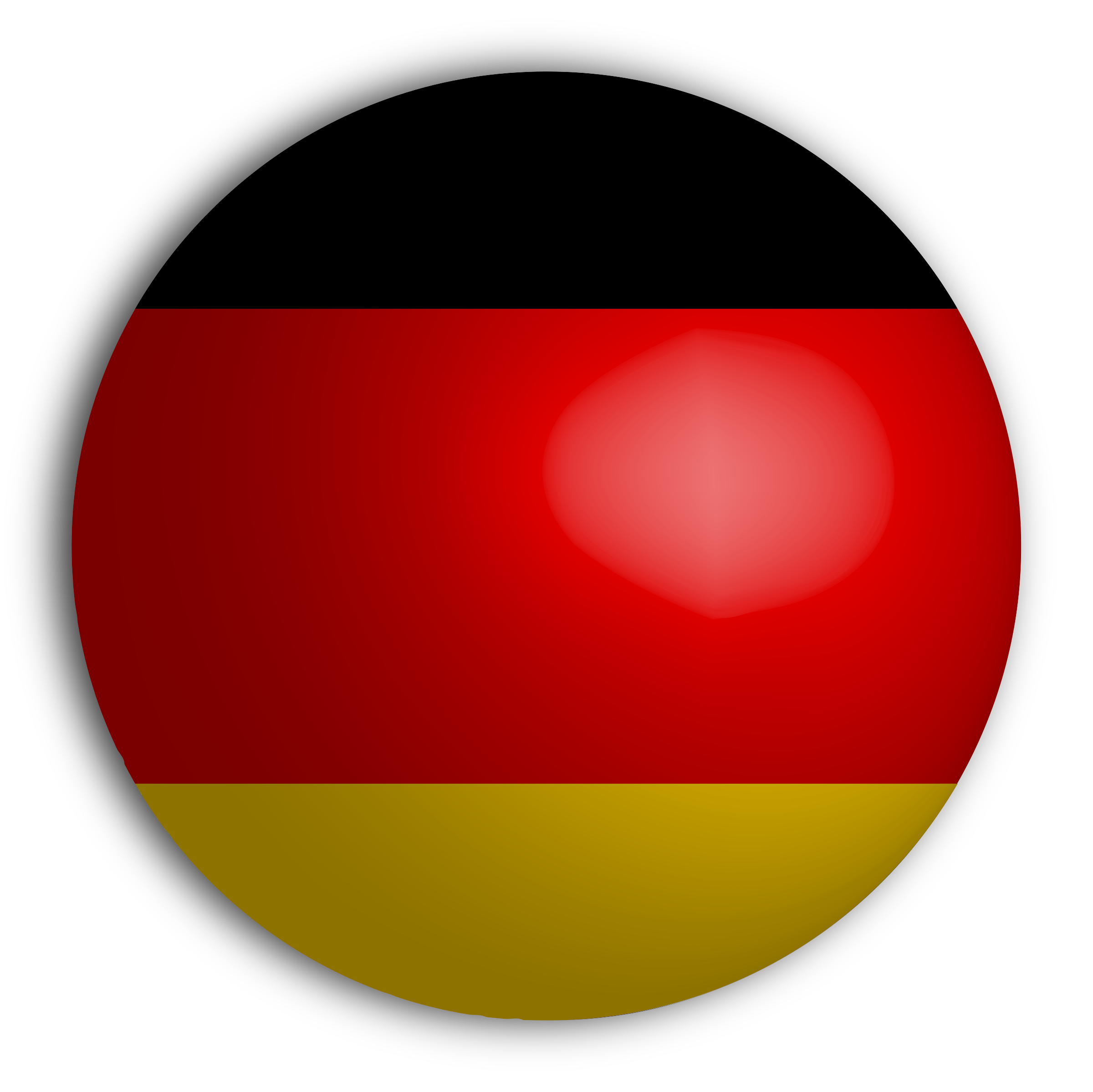 German Flag Sphere by GDJ