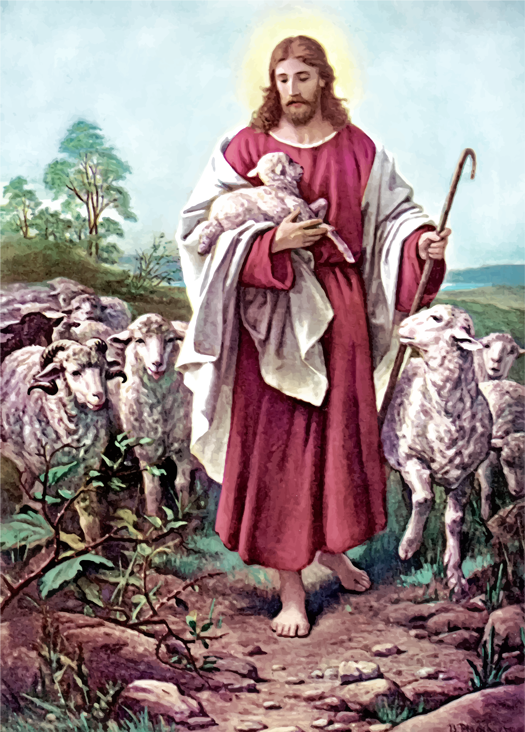 The Lord Is My Good Shepherd by GDJ