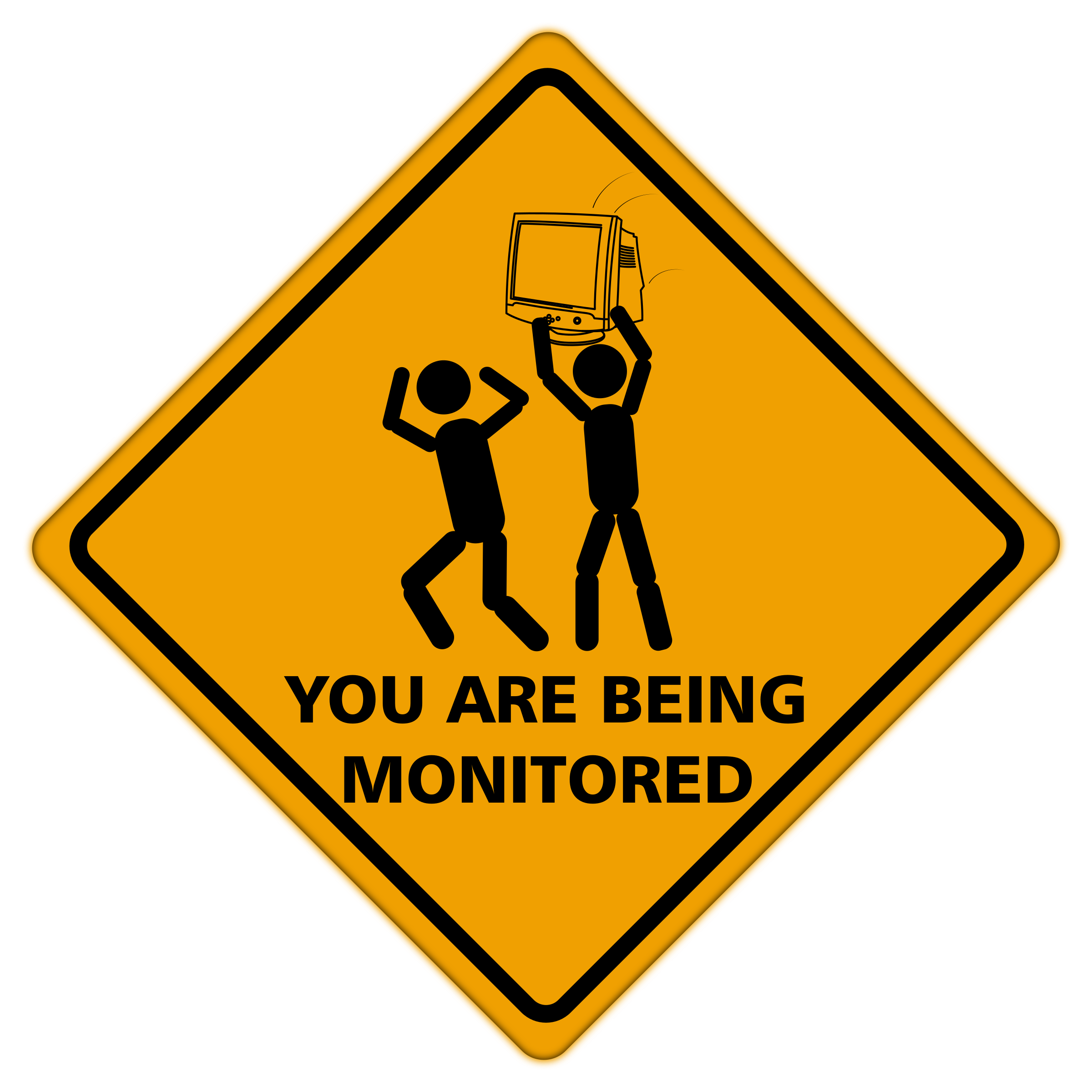 You Are Being Monitored by GDJ