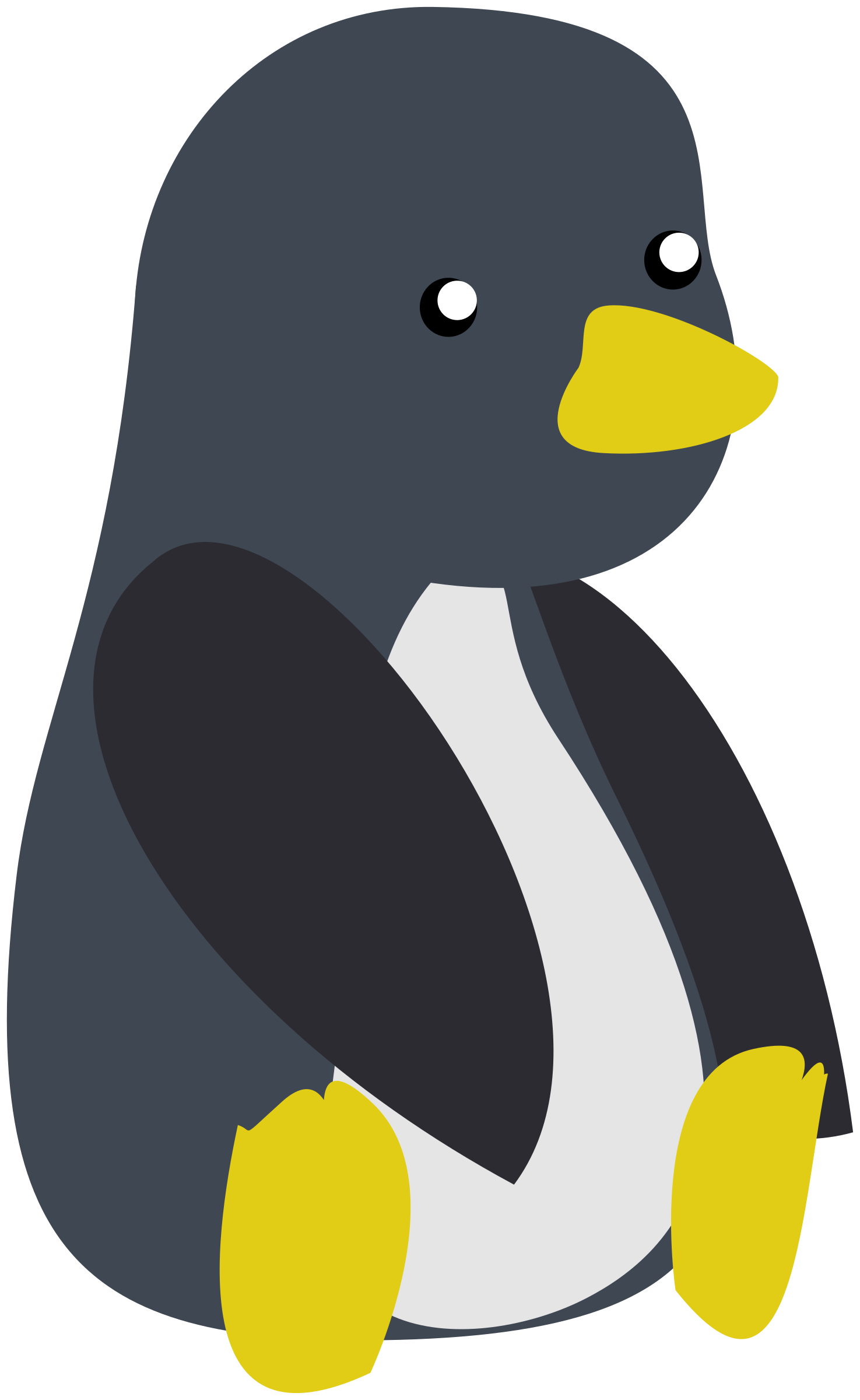 baby tux by Vengadora