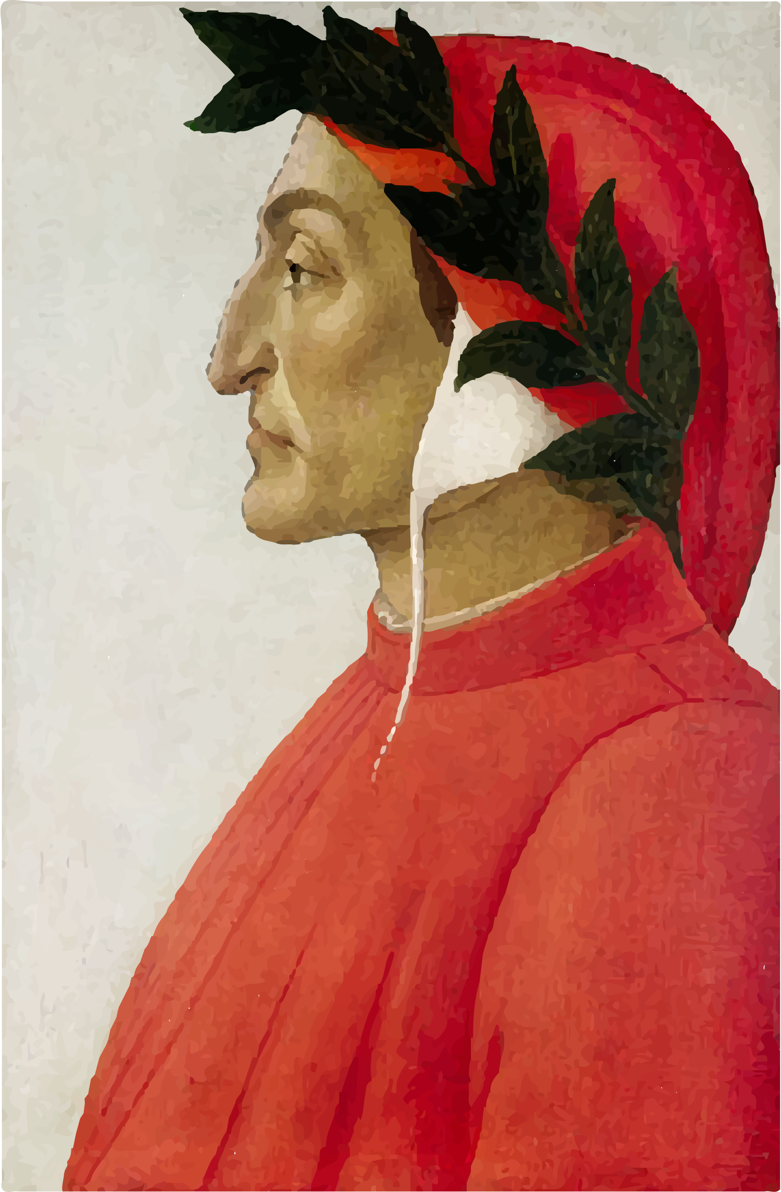 Portrait Of Dante Alighieri by GDJ