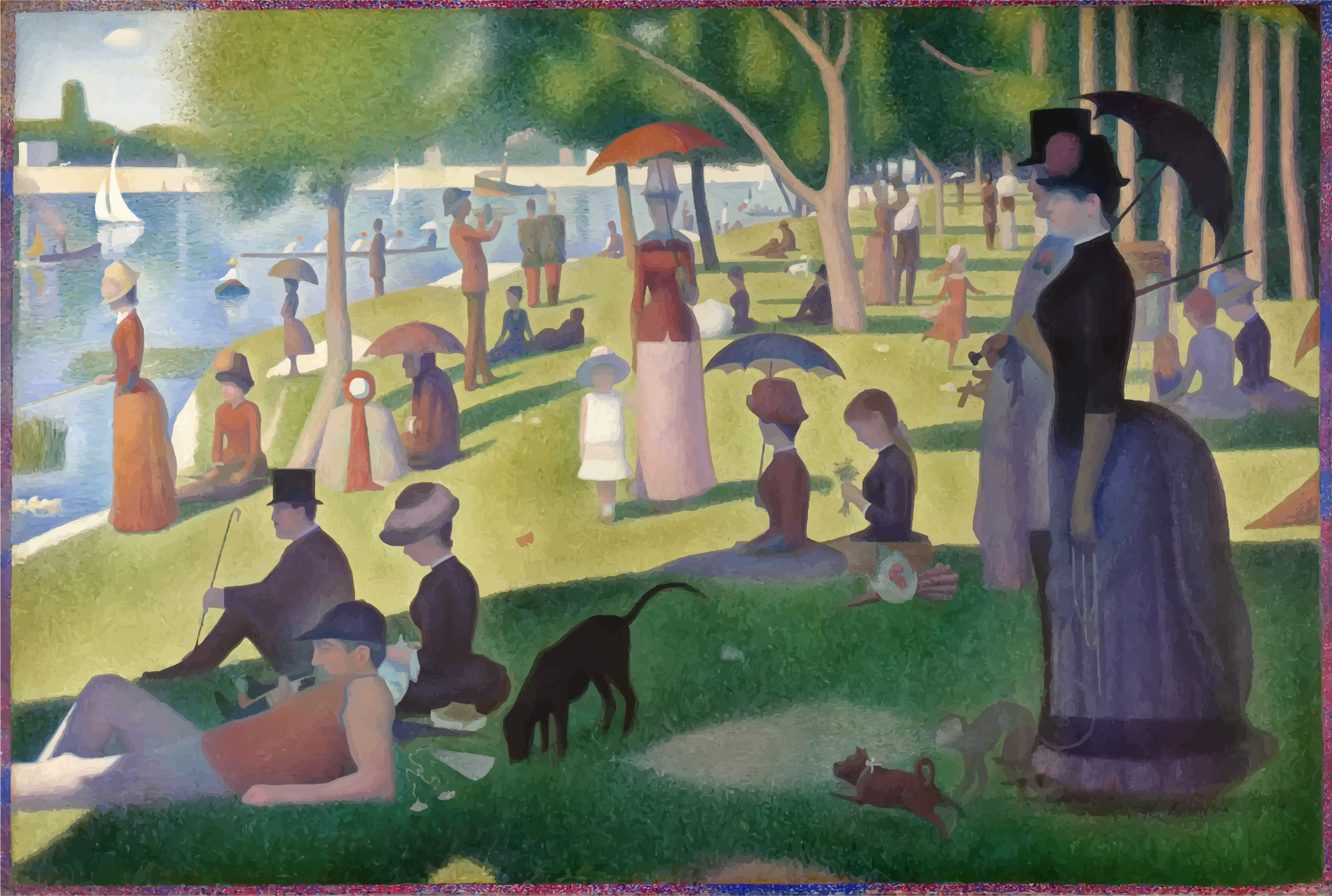 A Sunday on La Grande Jatte by GDJ
