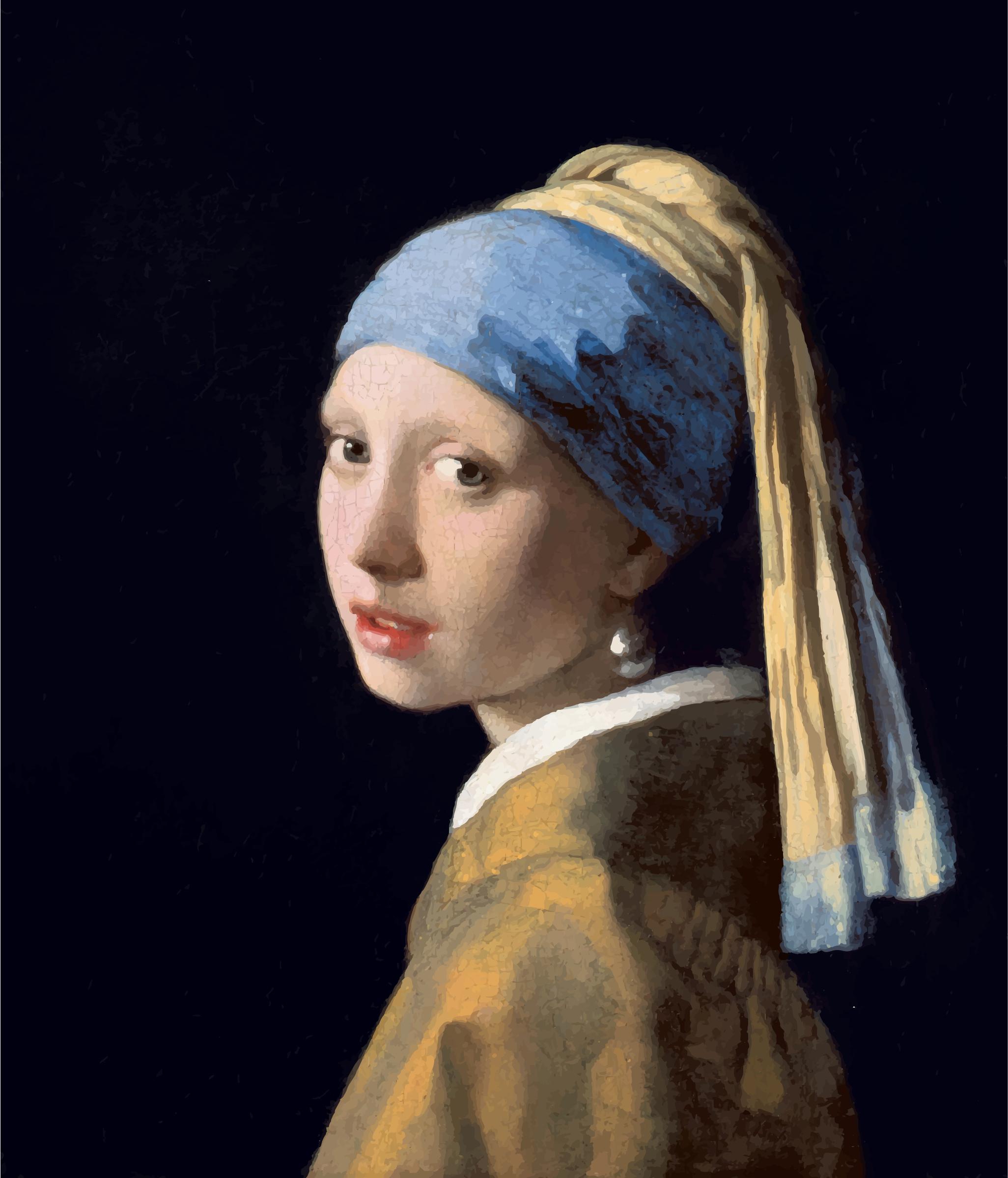 Girl with a Pearl Earring by GDJ