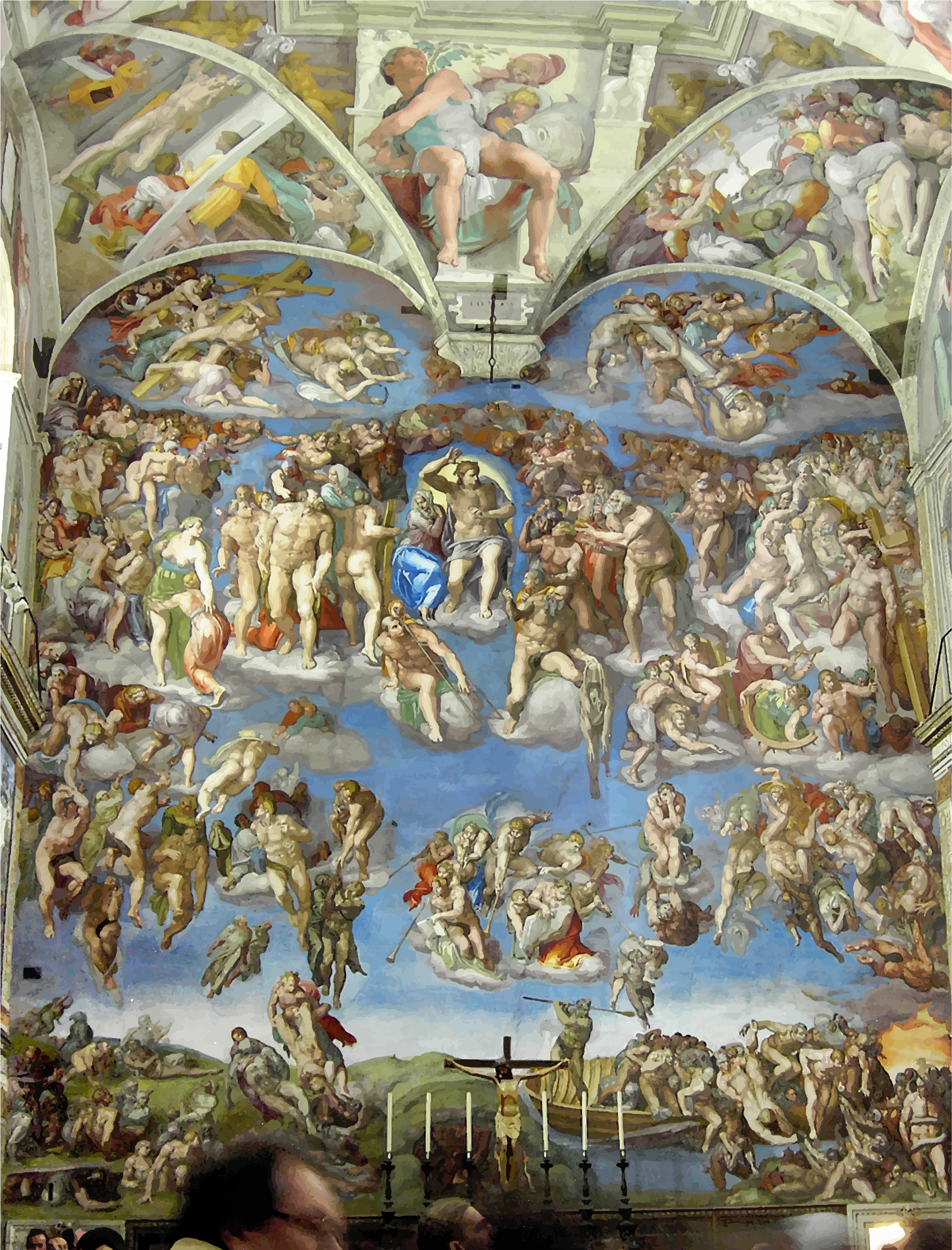 Michelangelo's The Last Judgement by GDJ