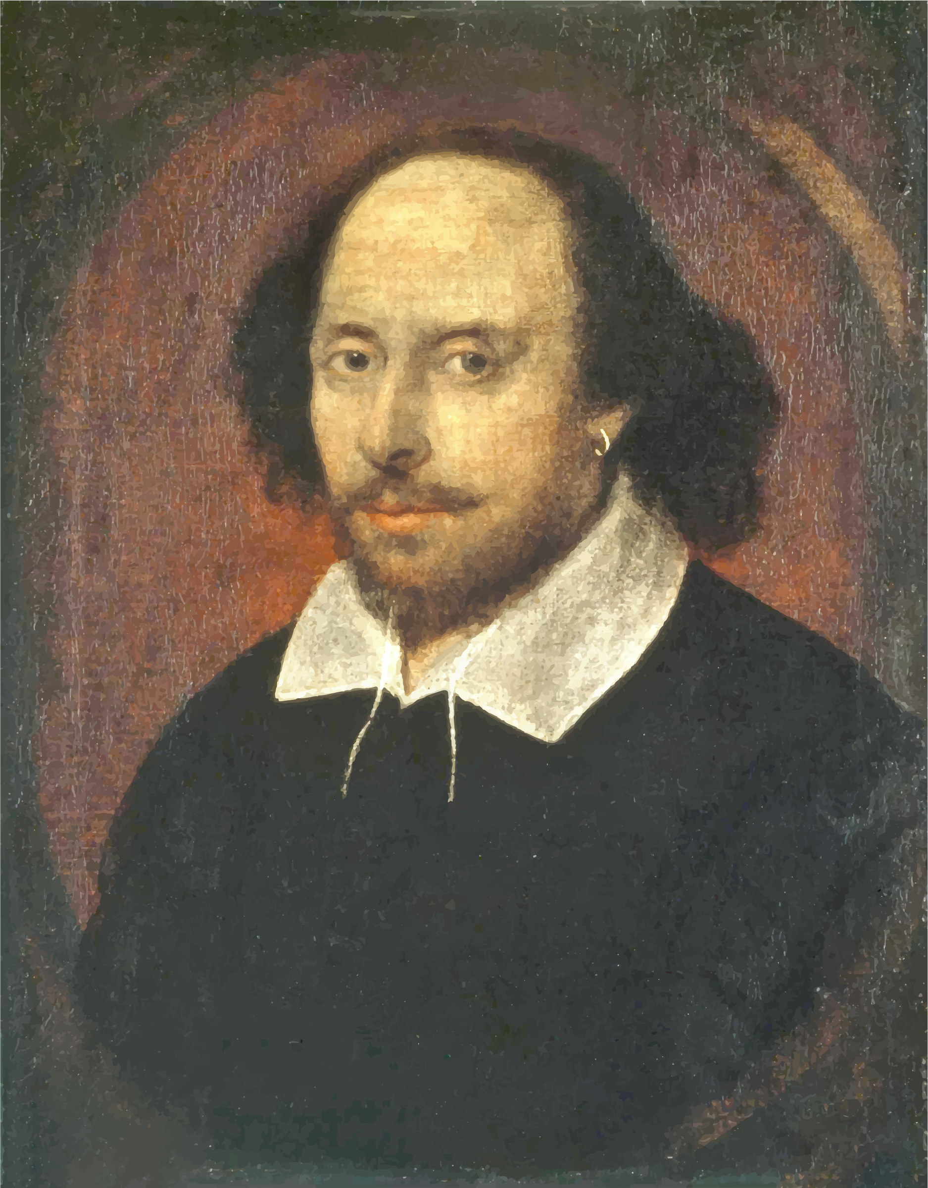 Portrait Of William Shakespeare by GDJ