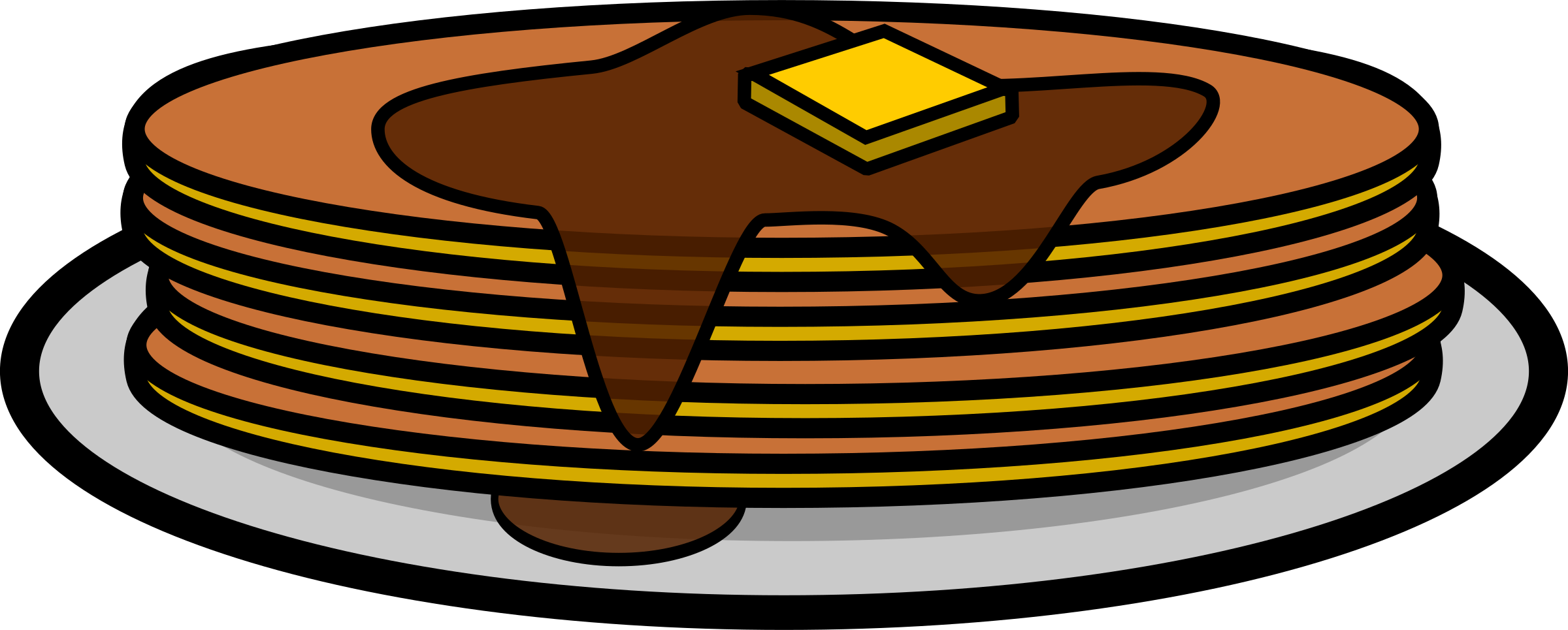 Clipart - Pancakes