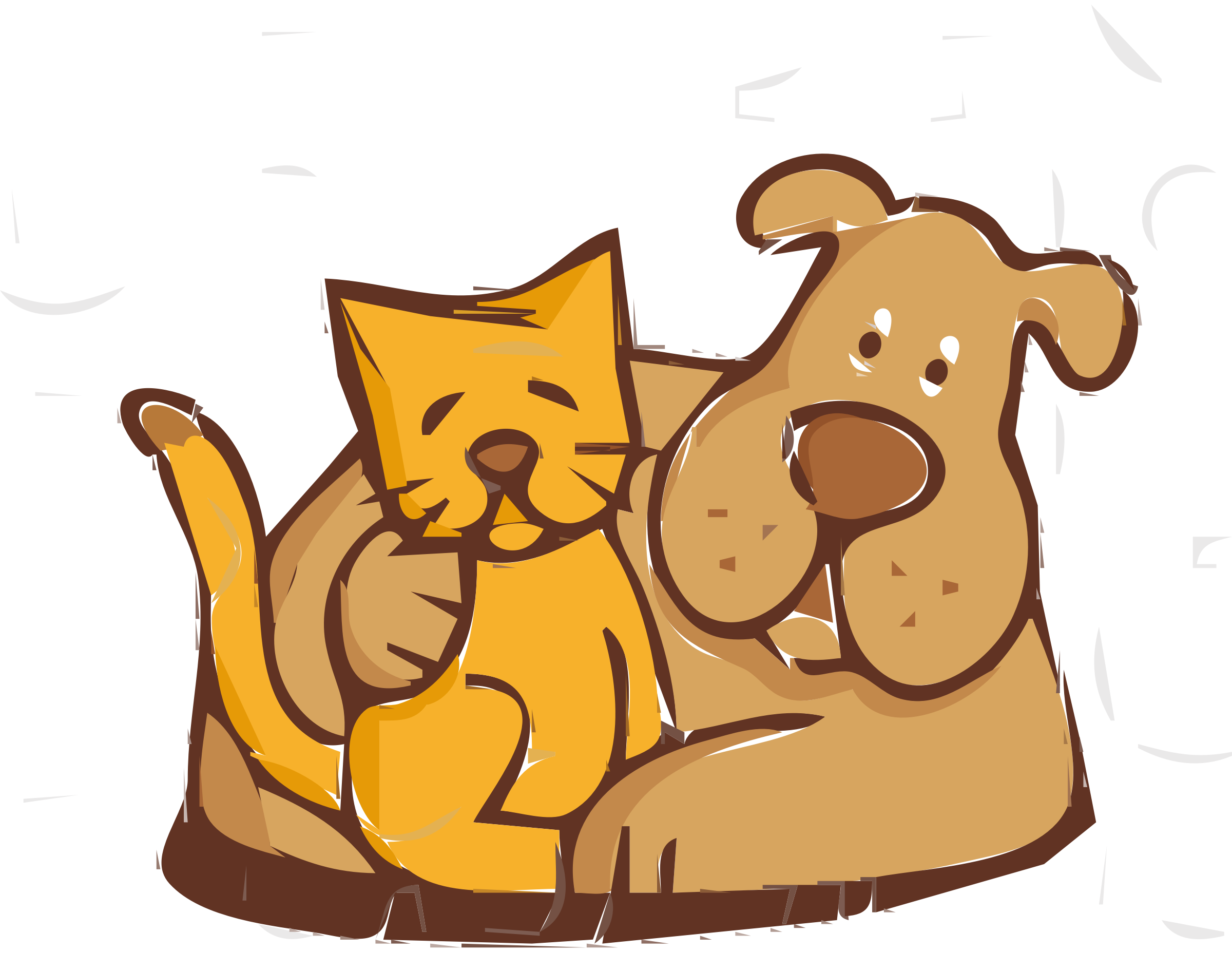 free clipart for dogs and cats - photo #37