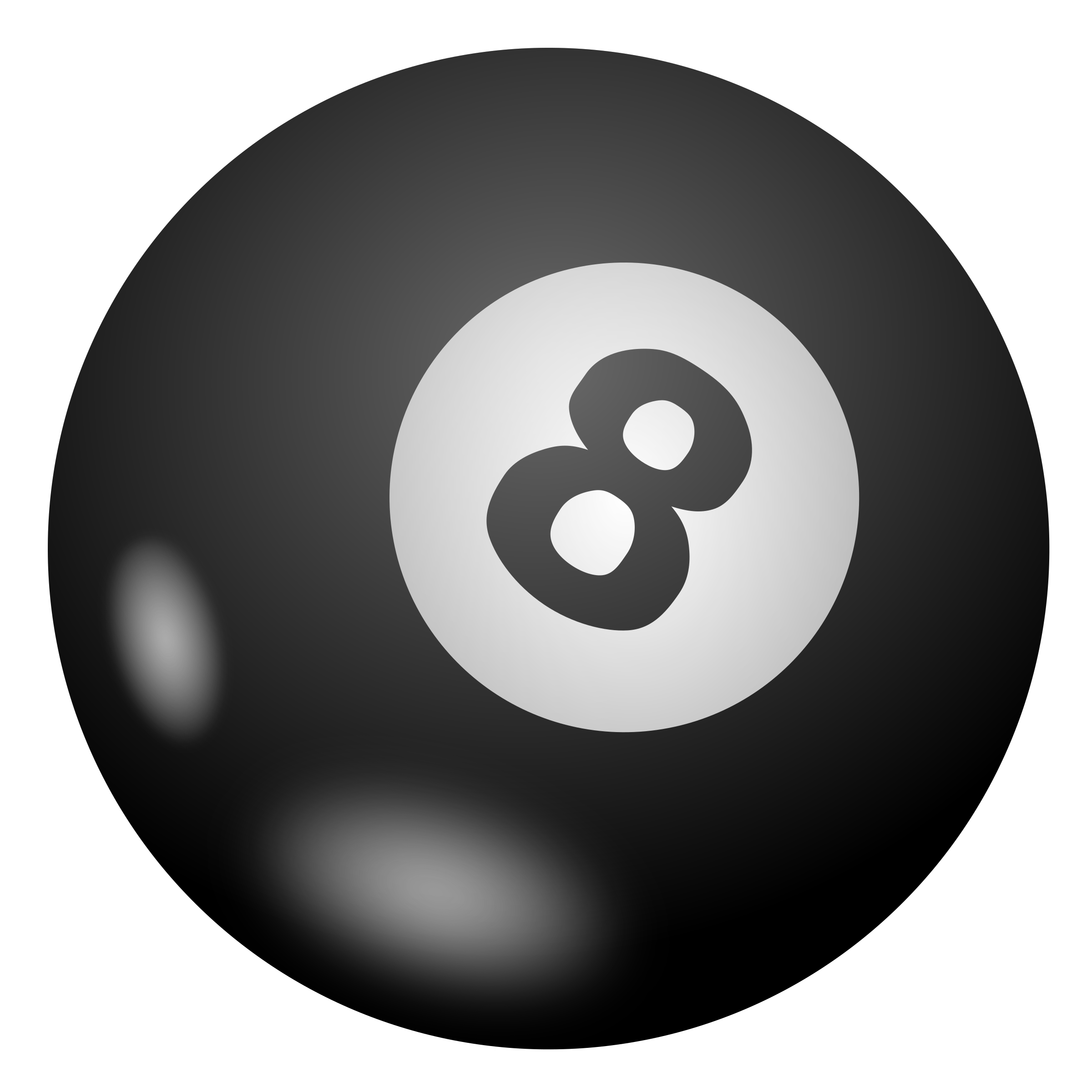 Eight ball by nicubunu
