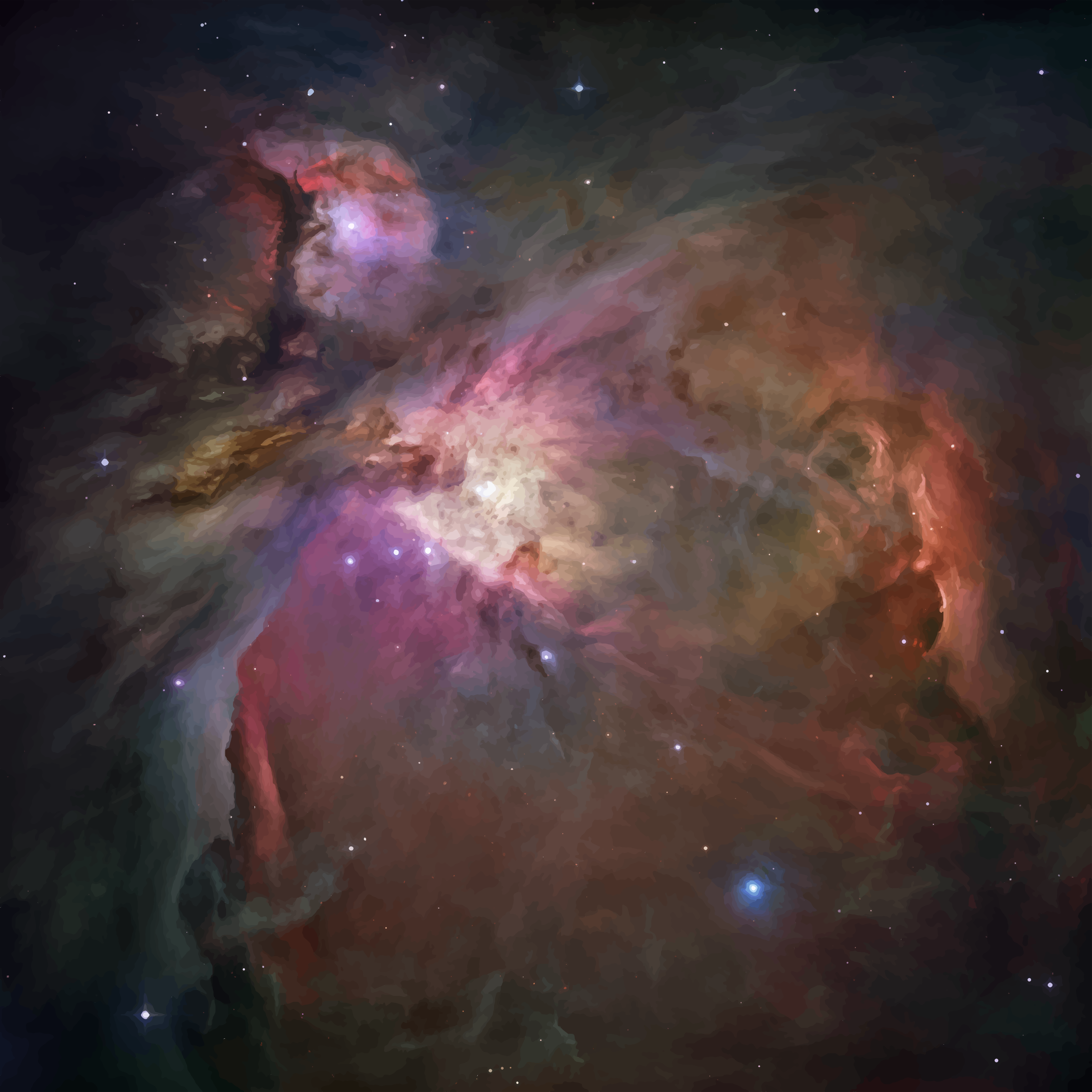 Orion Nebula by GDJ