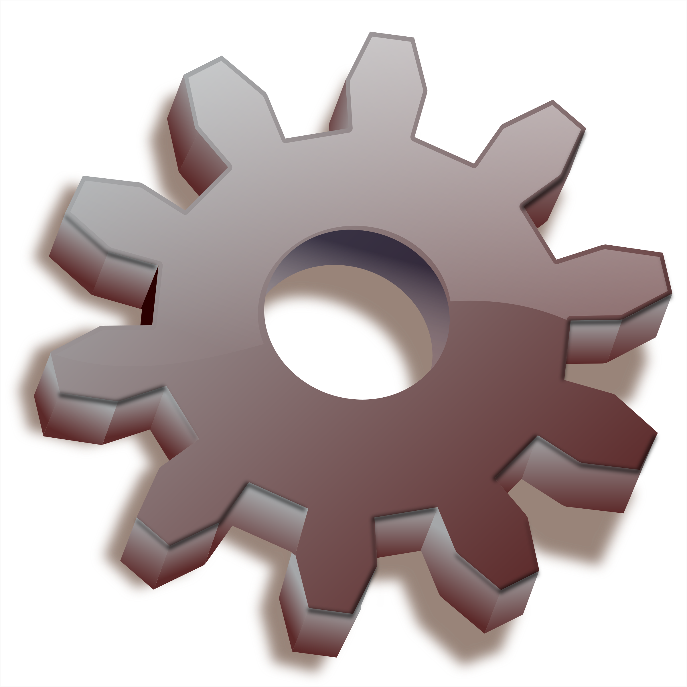 Gear Icon by rejon
