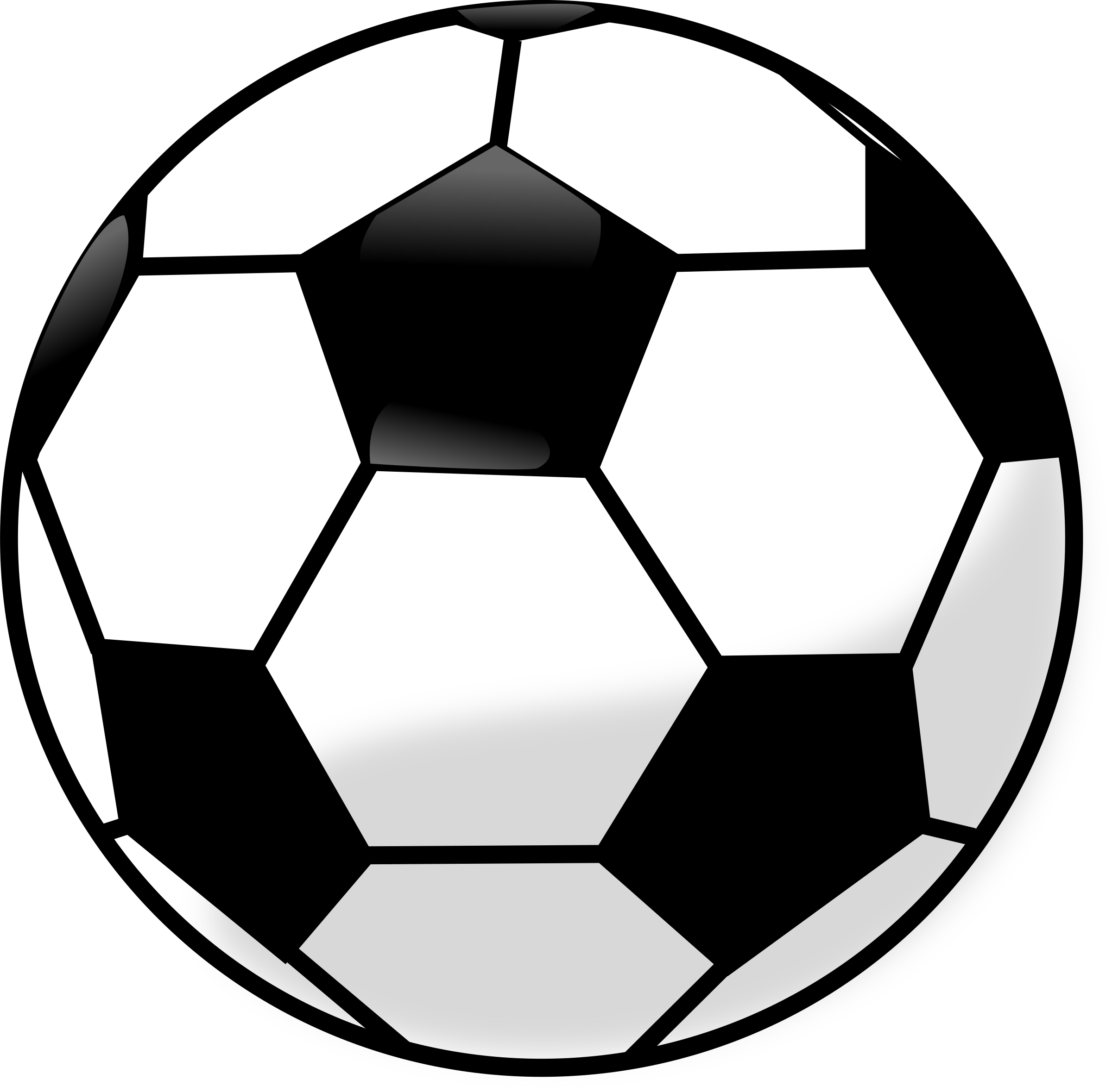 clipart soccer ball rh openclipart org soccer ball and cleats clipart clipart soccer ball with flames