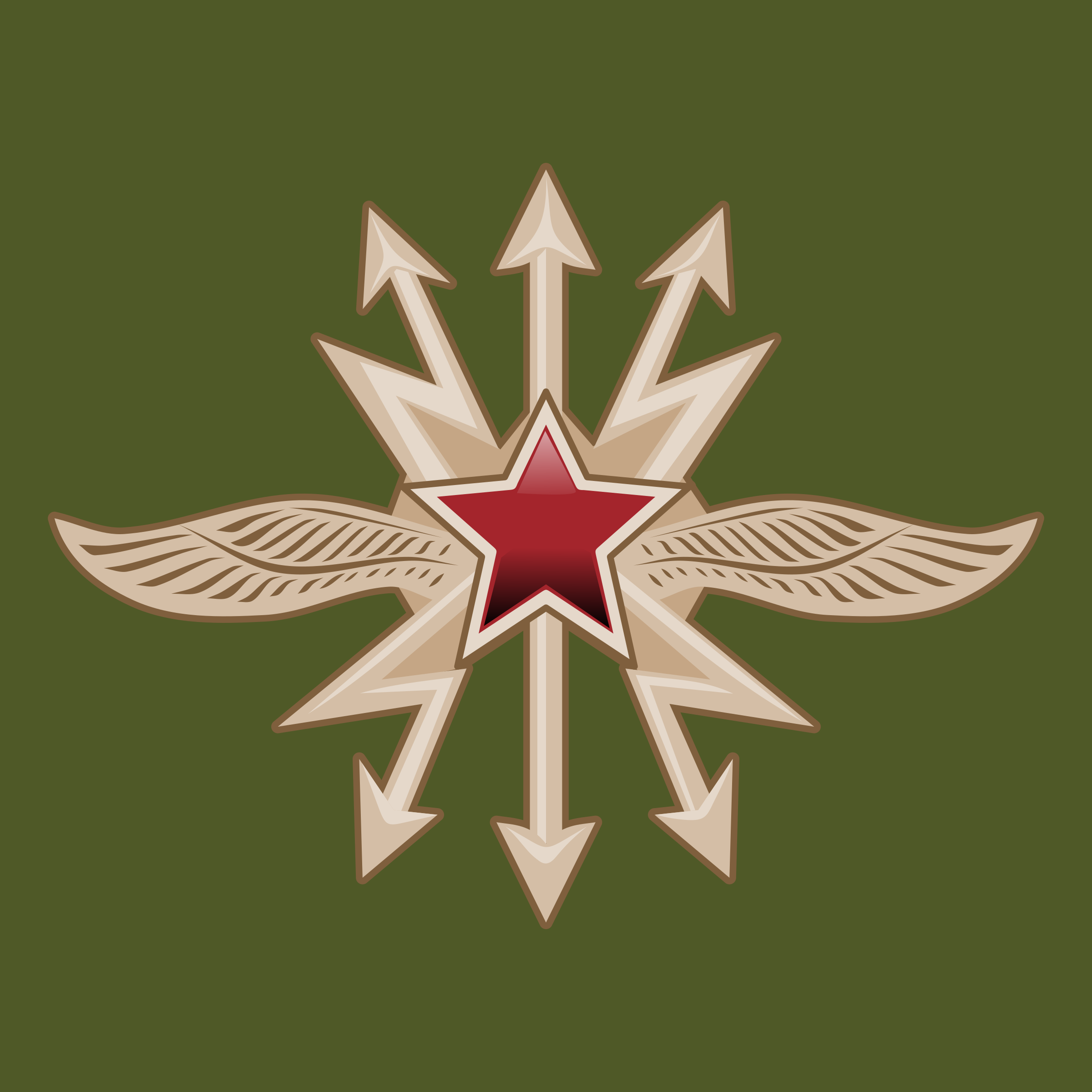Emblem of the Soviet Signal Troops by rones