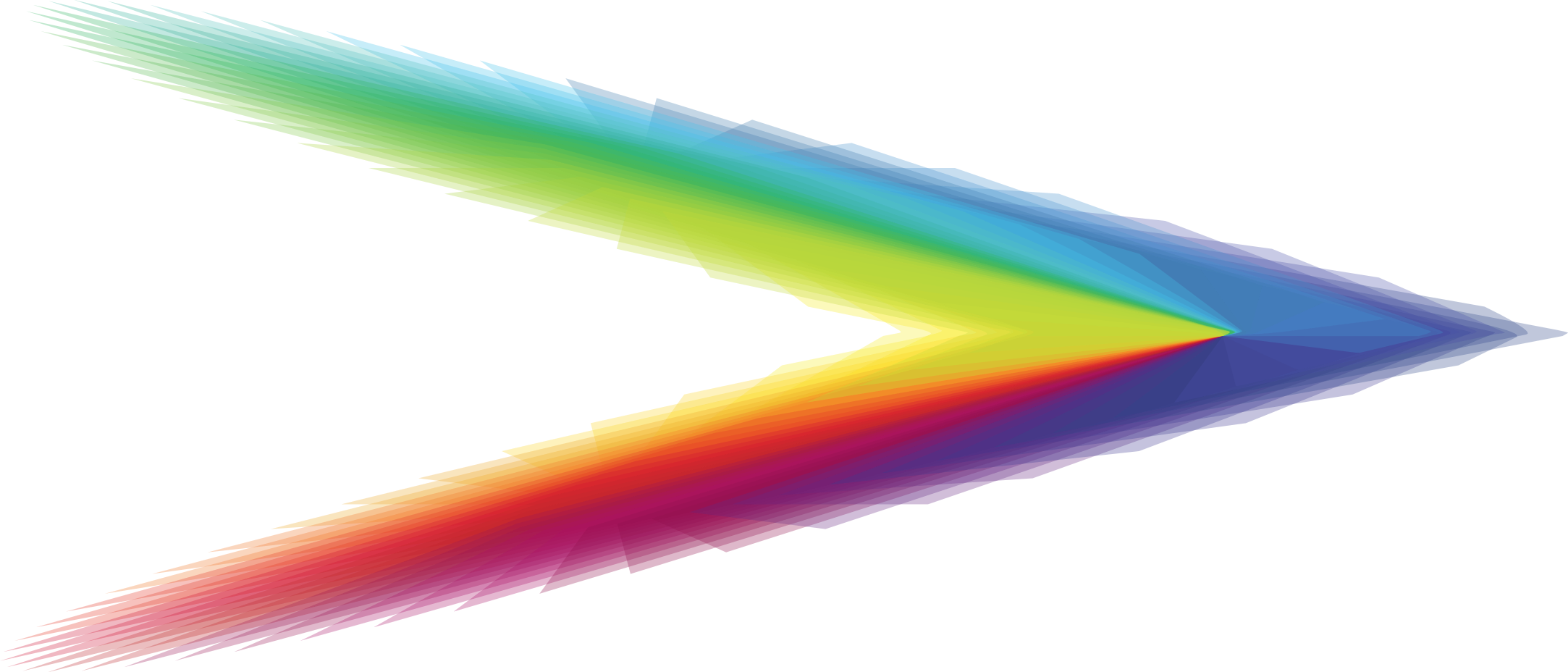 Rainbow Arrow by GDJ