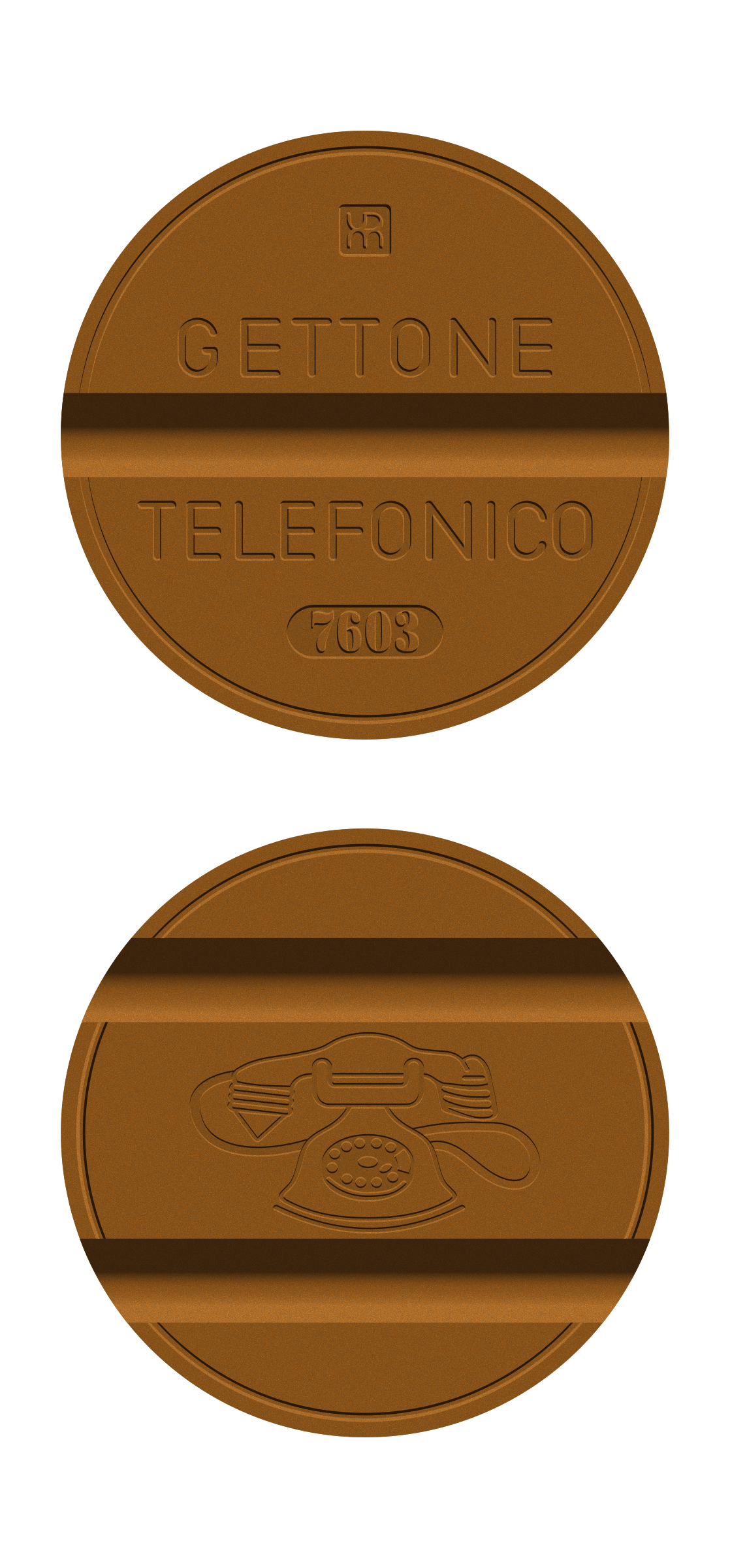 Telephone token by conte magnus