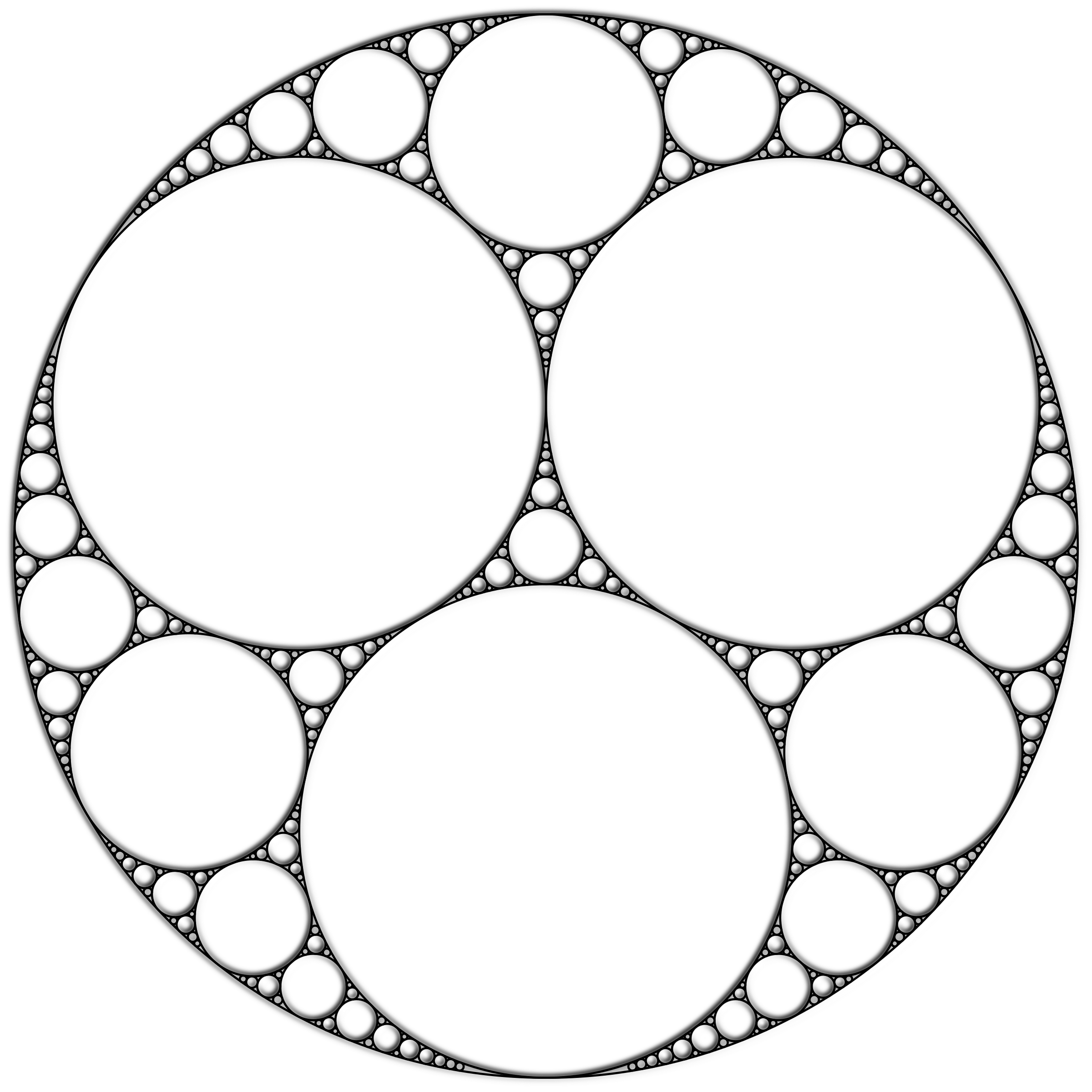 Apollonian Gasket 2 by GDJ