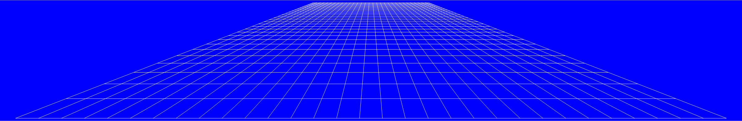 Perspective Grid Flat Blue by GDJ