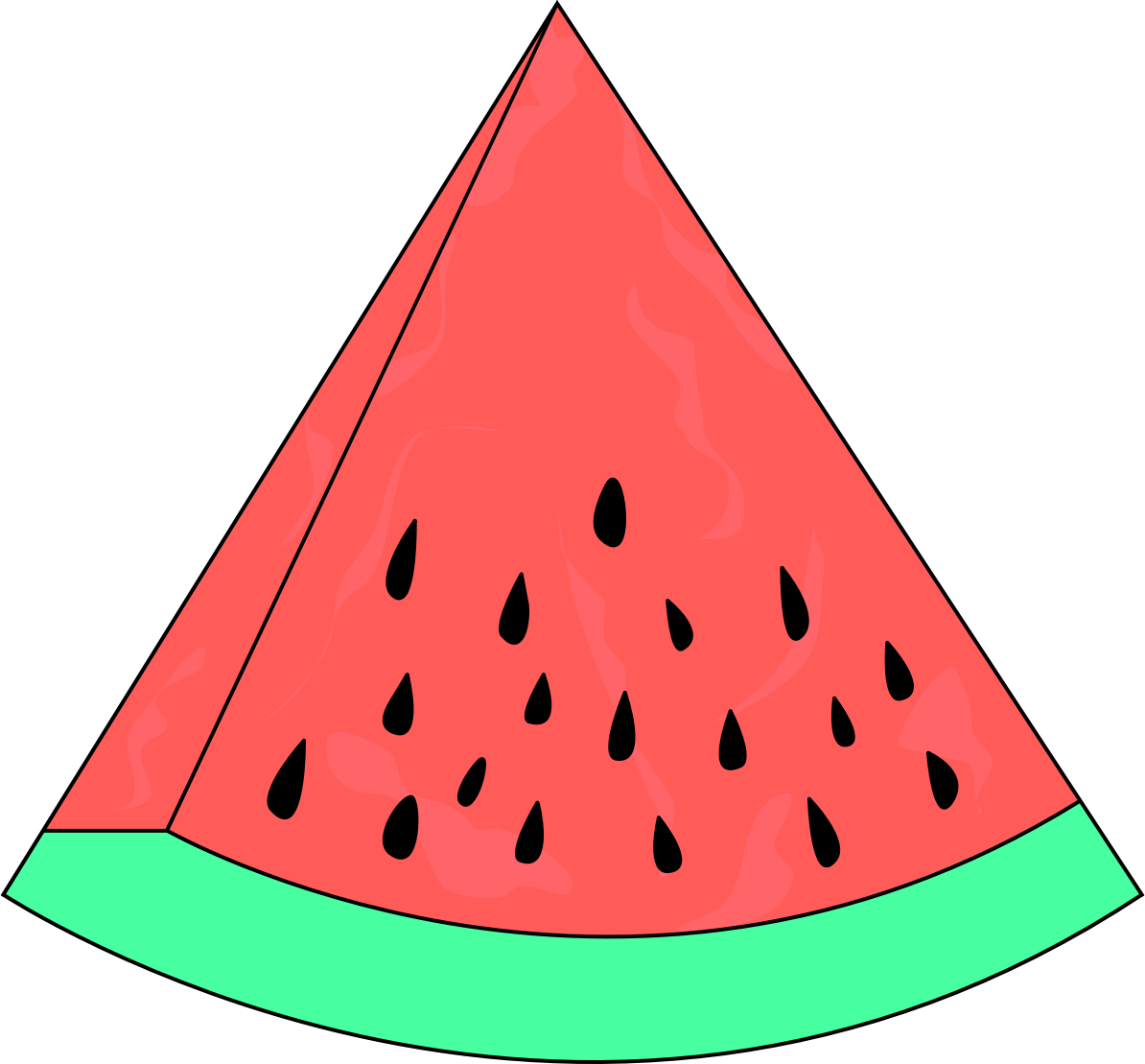 Slice Watermelon Sketch by jilllio