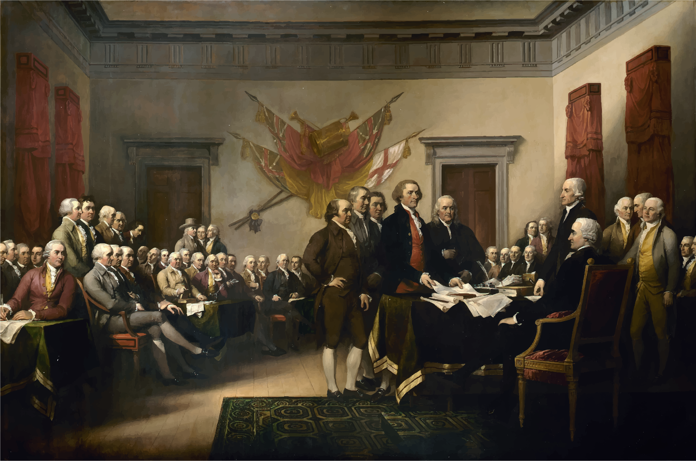 Declaration of Independence by GDJ