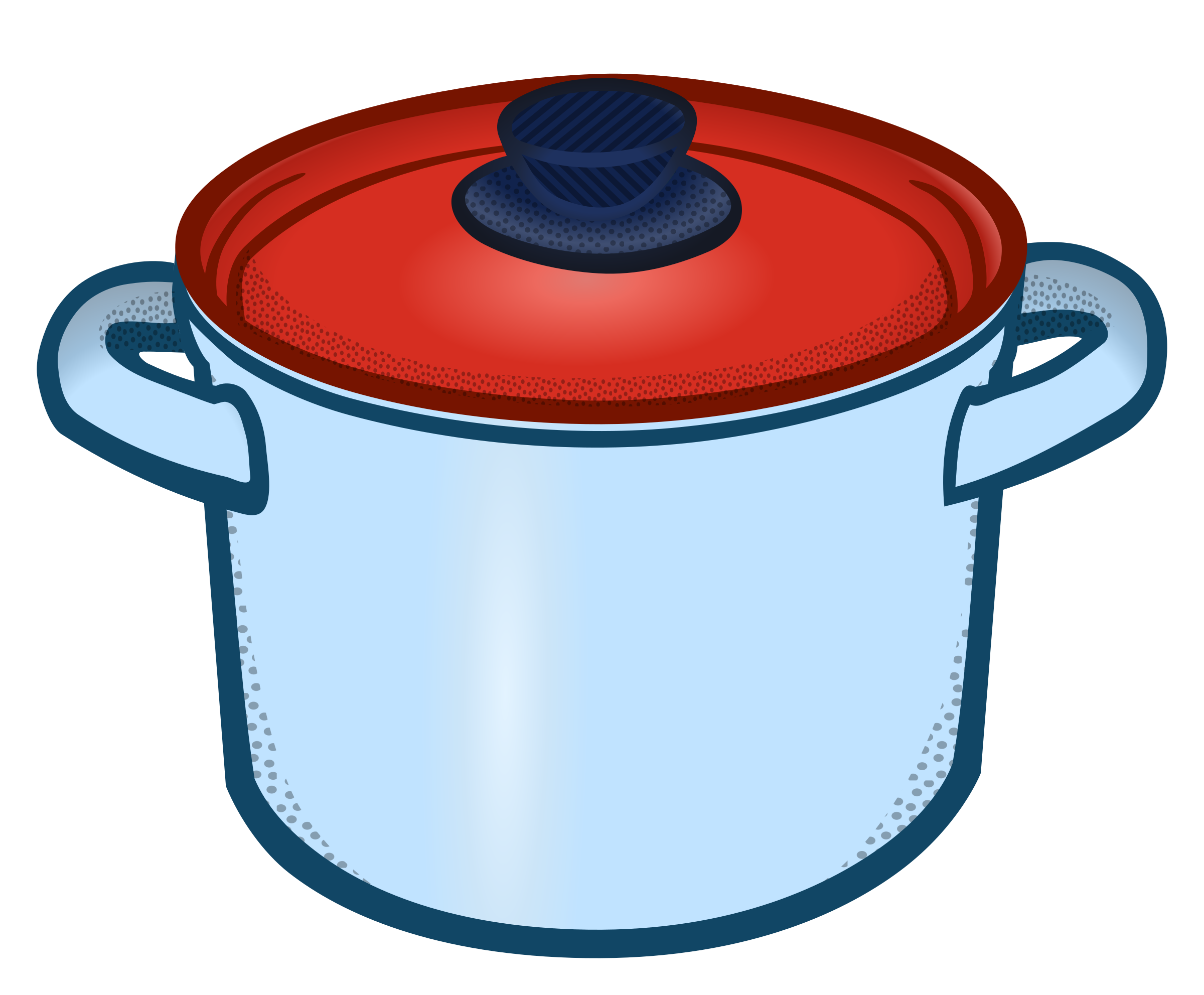 cooking pot - coloured by frankes