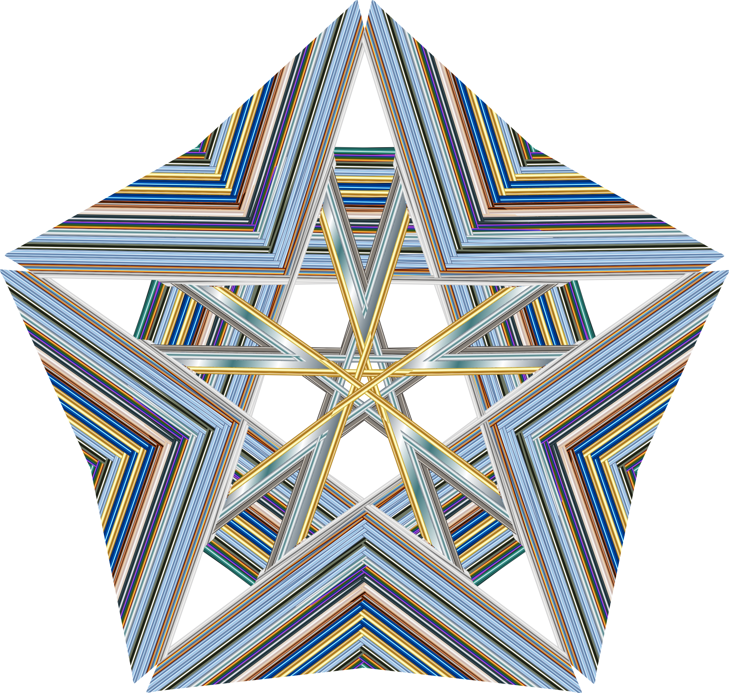 Geometric Star 3 by GDJ