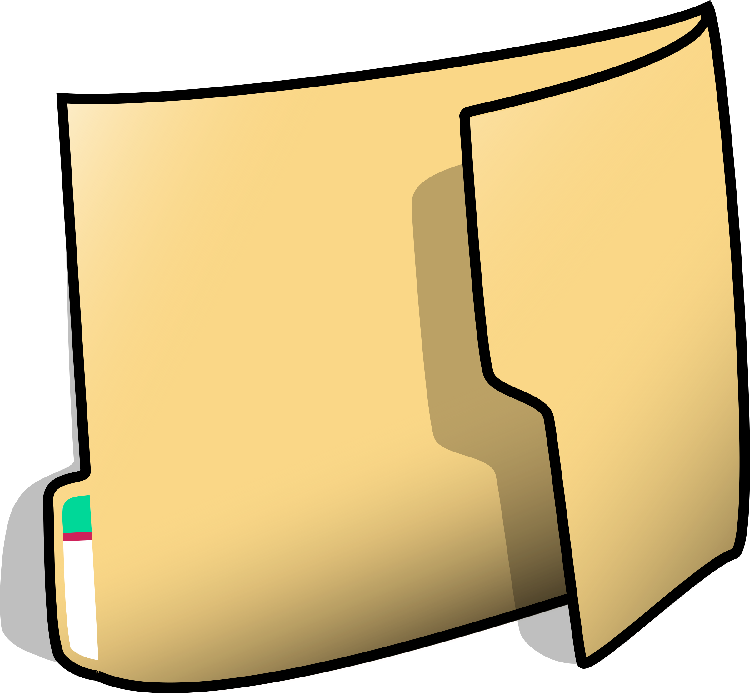 Folder (vertical) by nicubunu