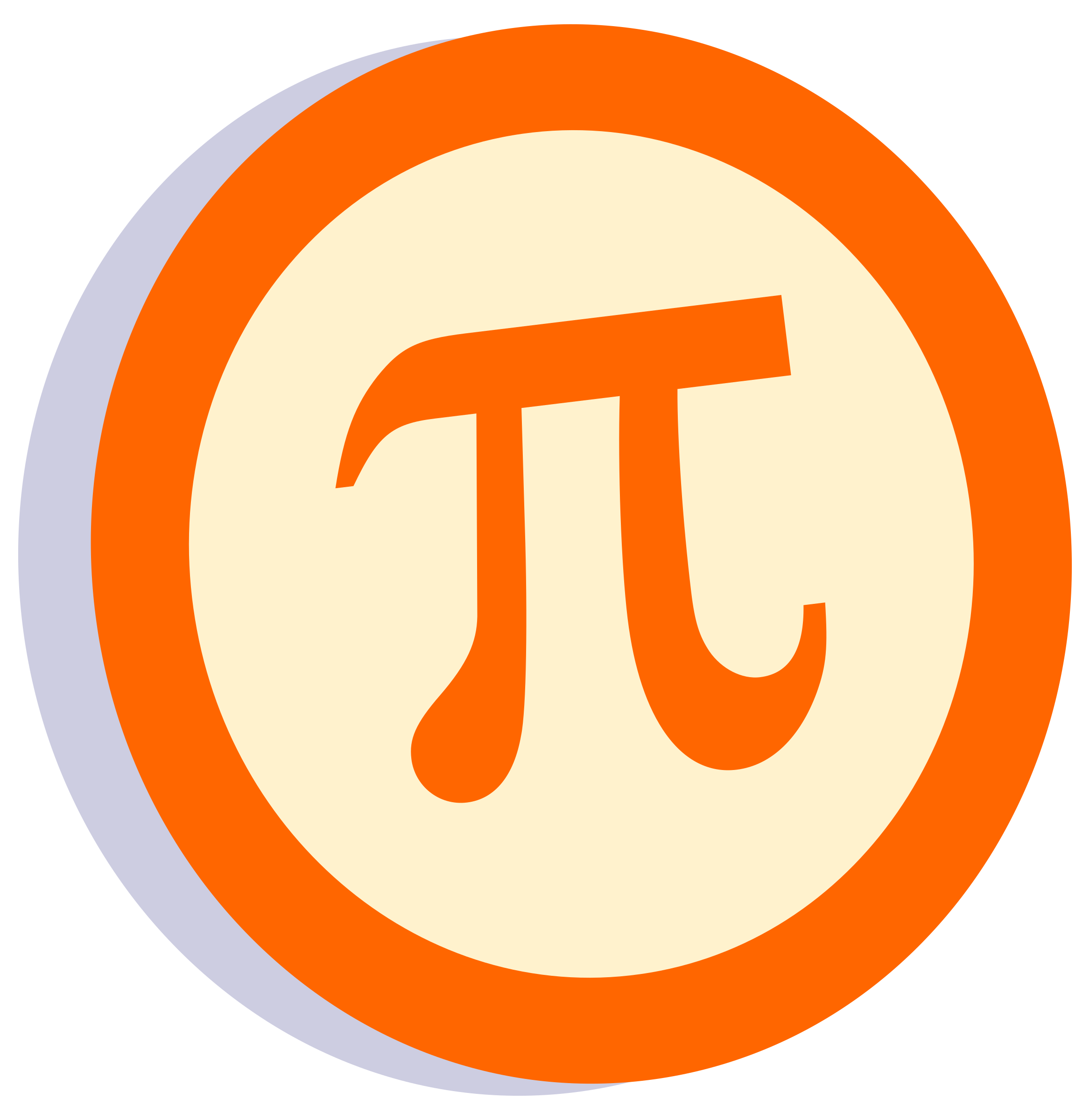 Pi Symbol in a Circle by GR8DAN