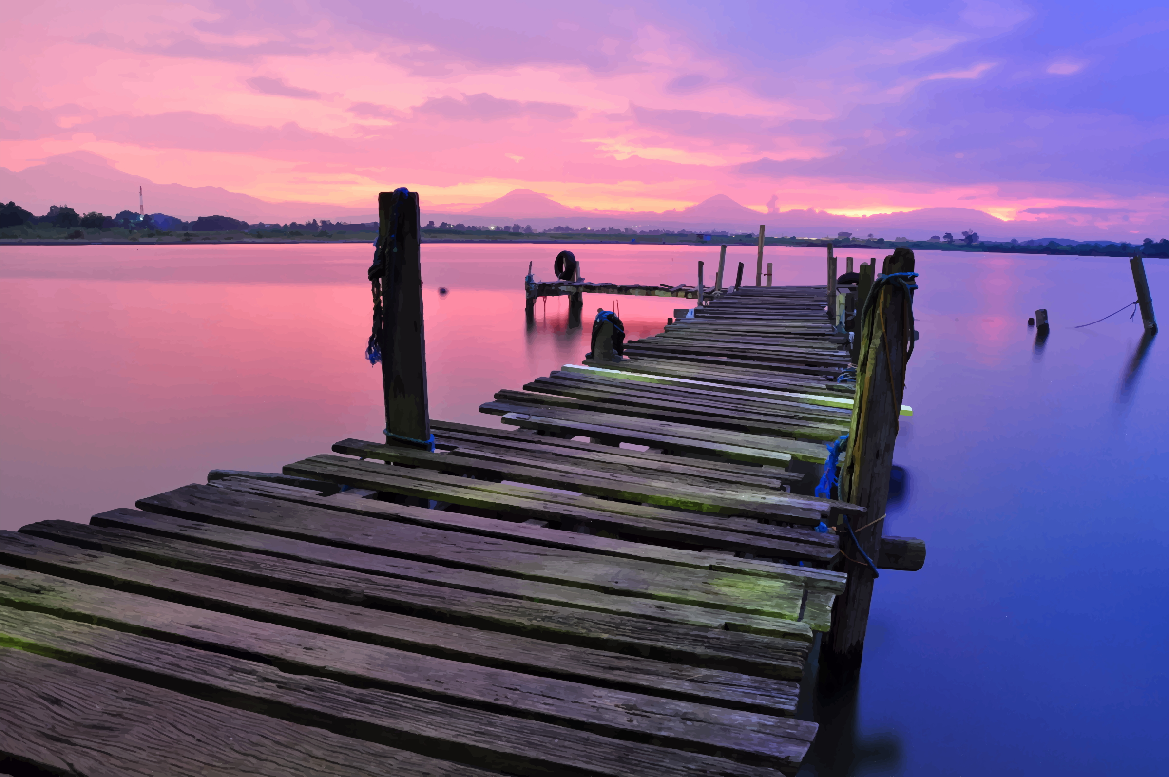 Spring Jetty by GDJ