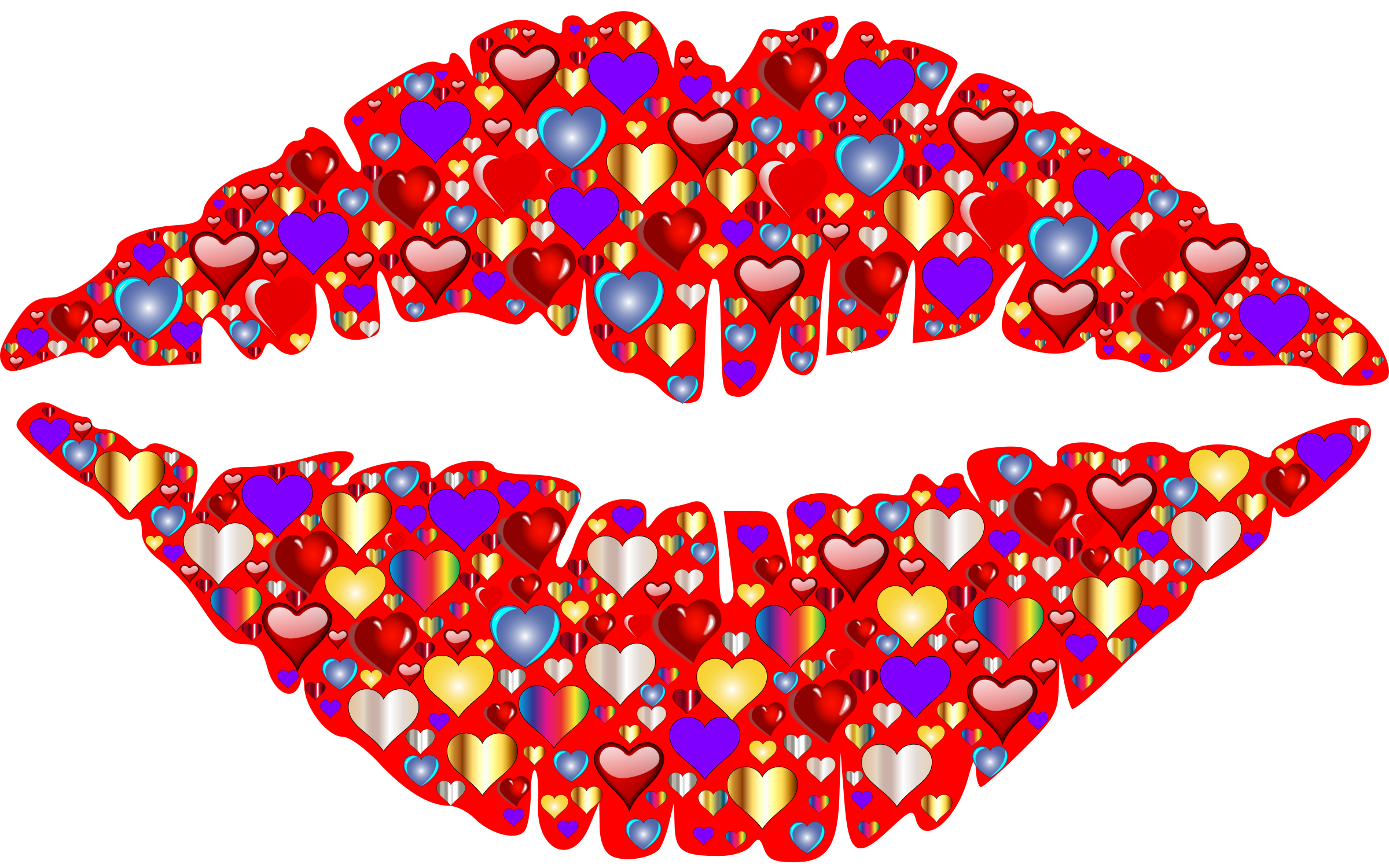 Heart Lips by GDJ