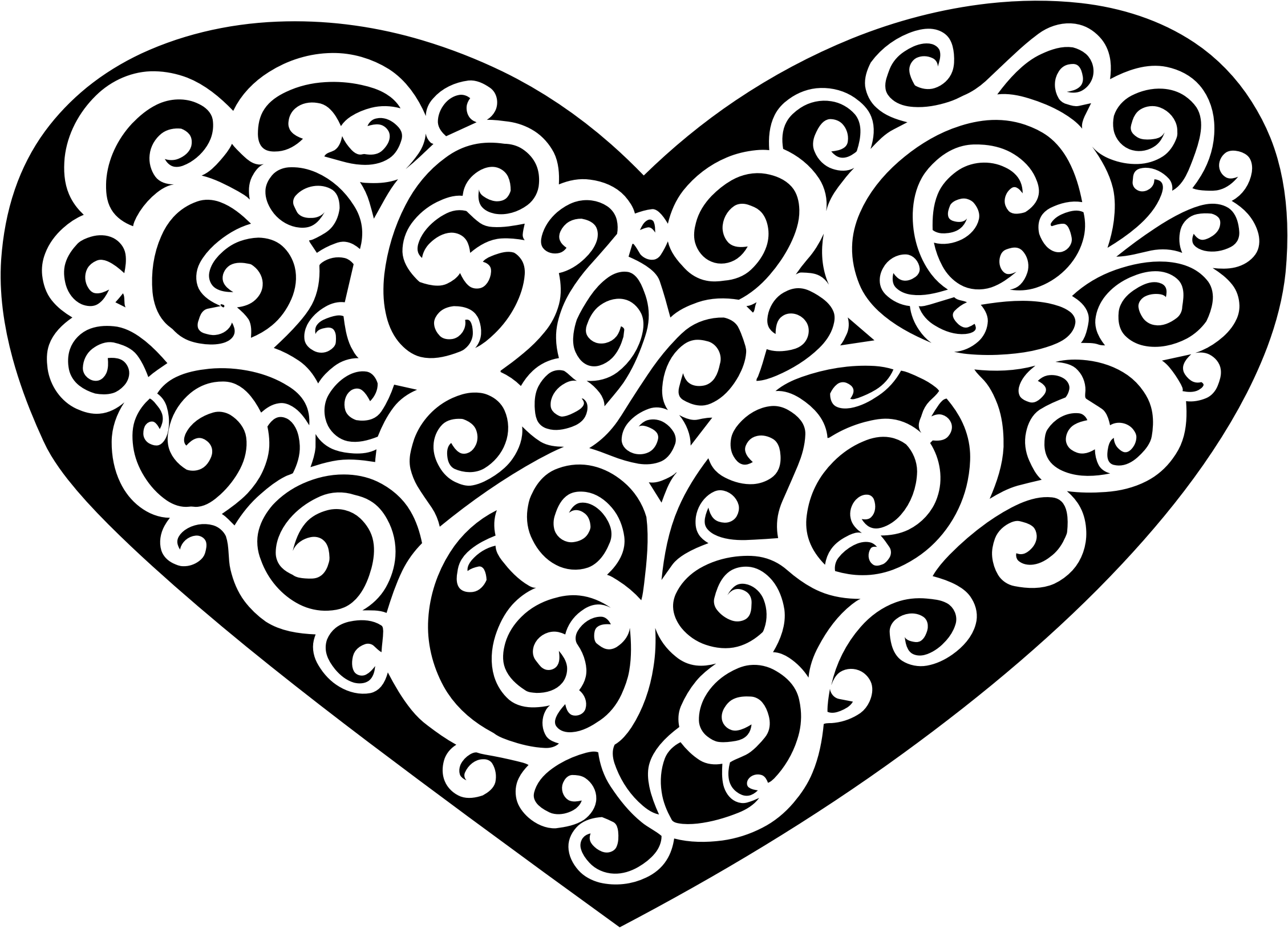 Ornamental Heart by GDJ