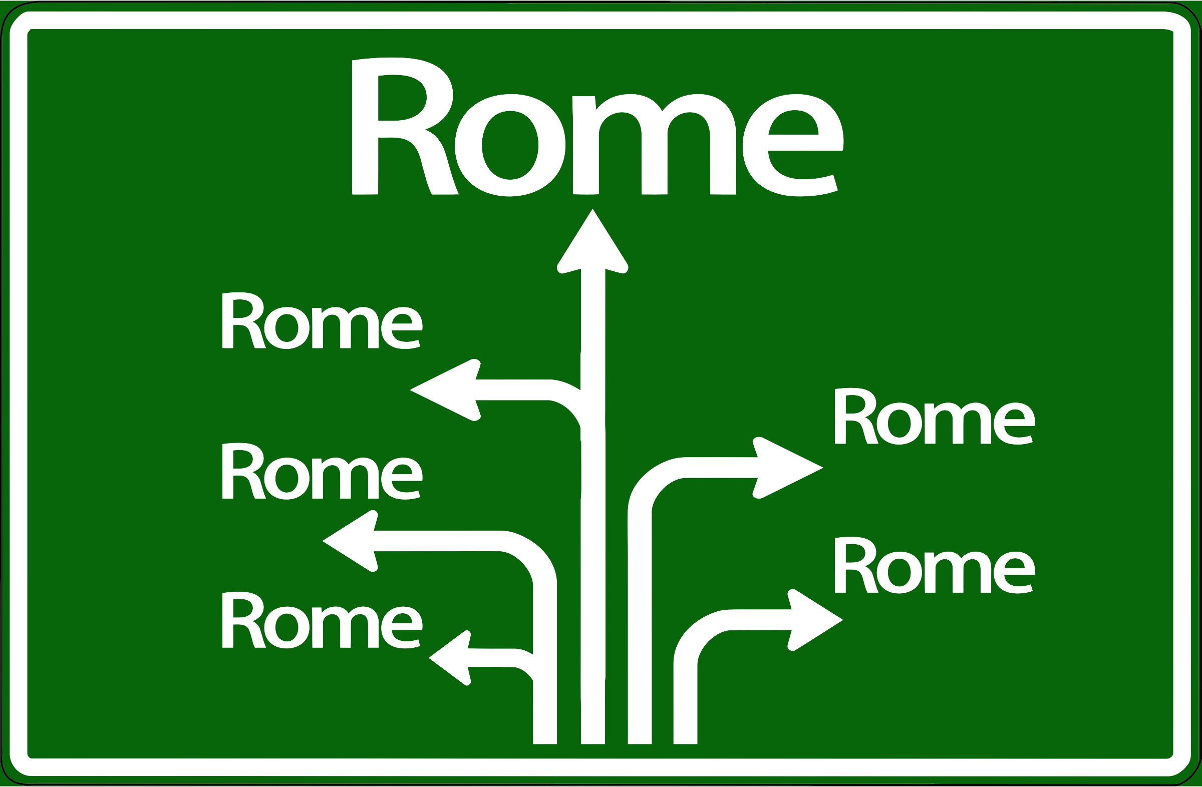All Roads Lead To Rome by GDJ