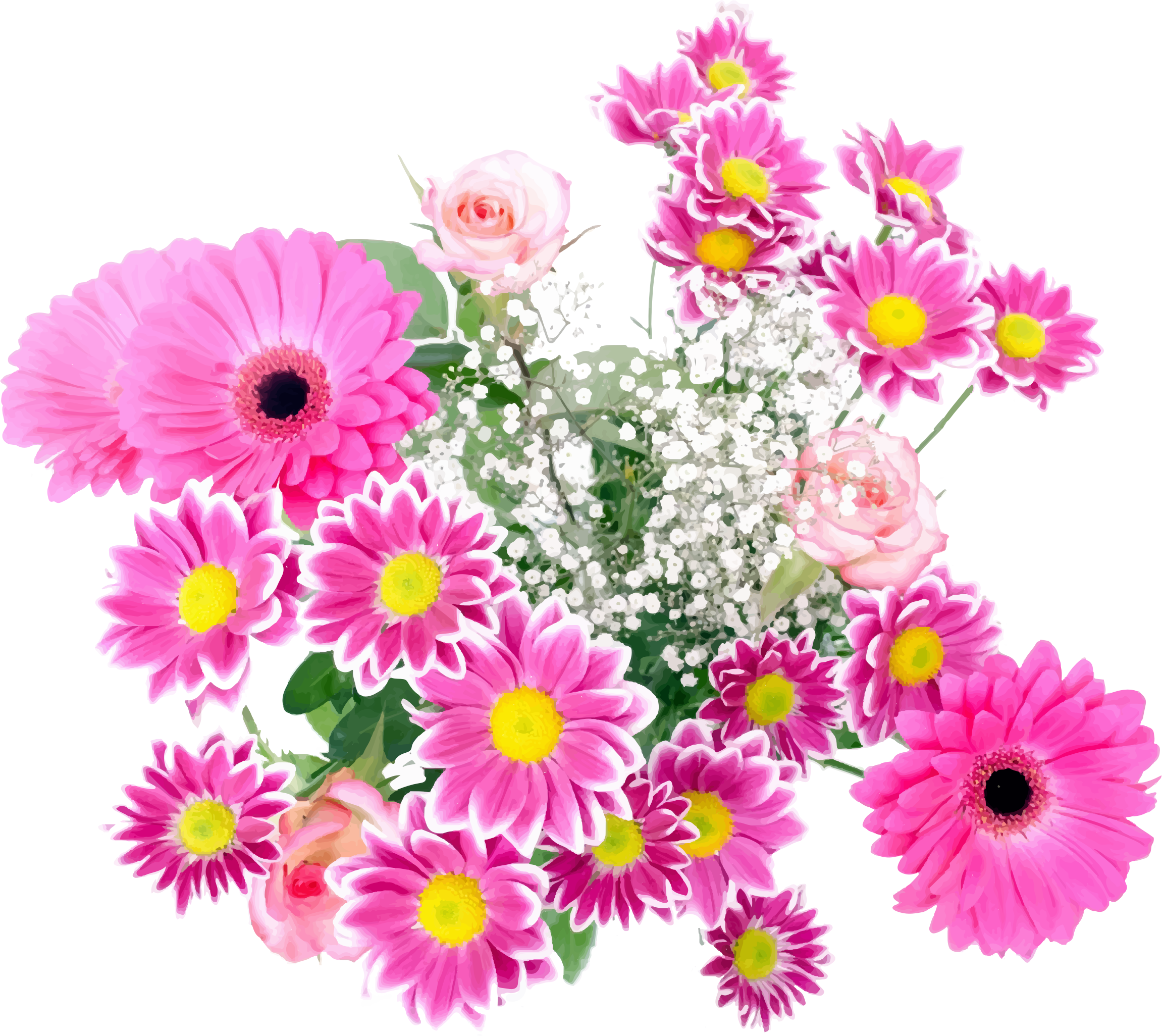 Clipart Flower Arrangement