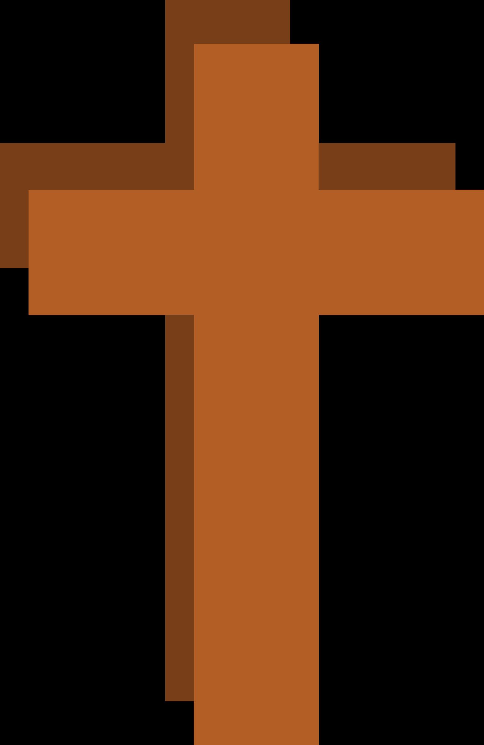 Stylized Christian Cross by barnheartowl