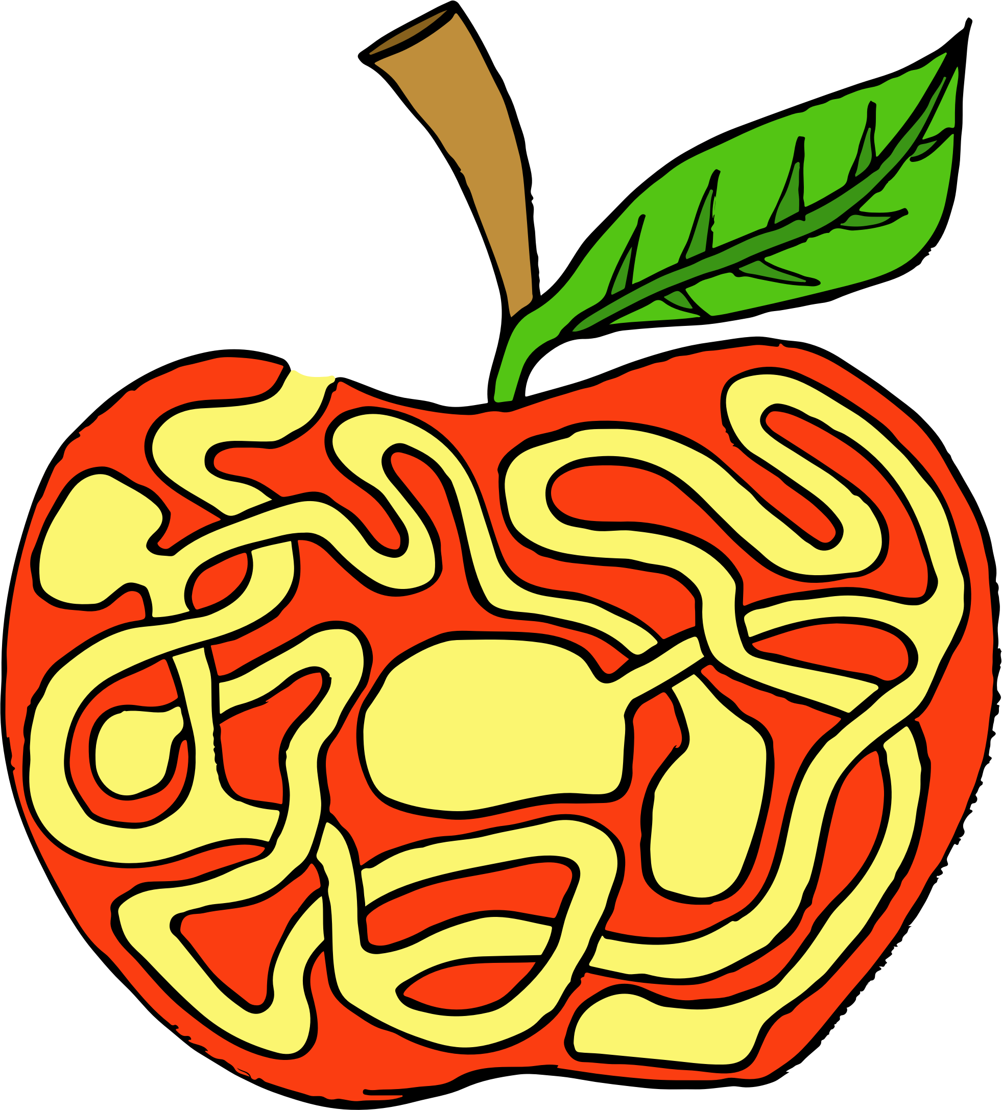 Apple Labyrinth by GDJ