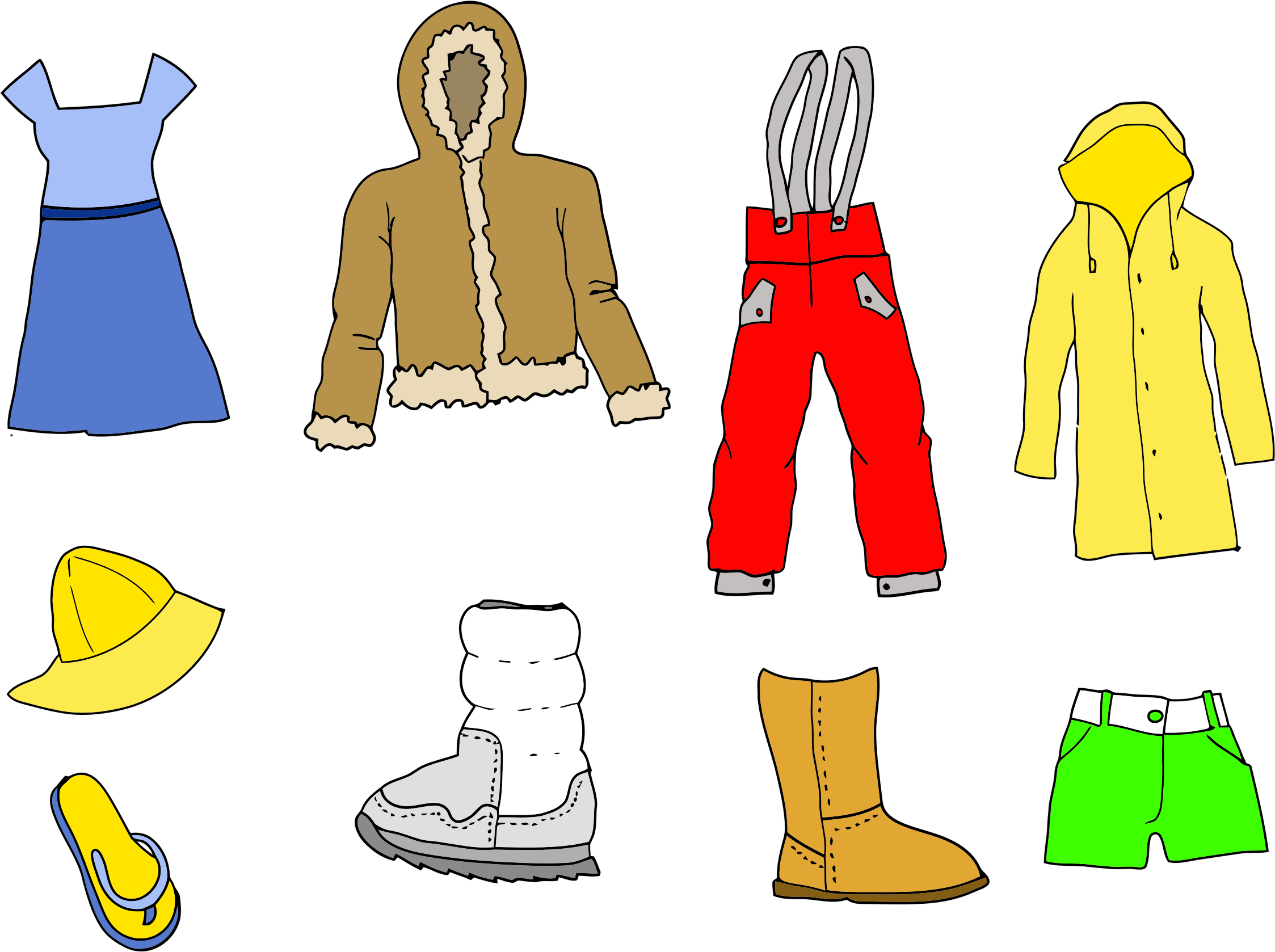 Clothing Assortment by GDJ