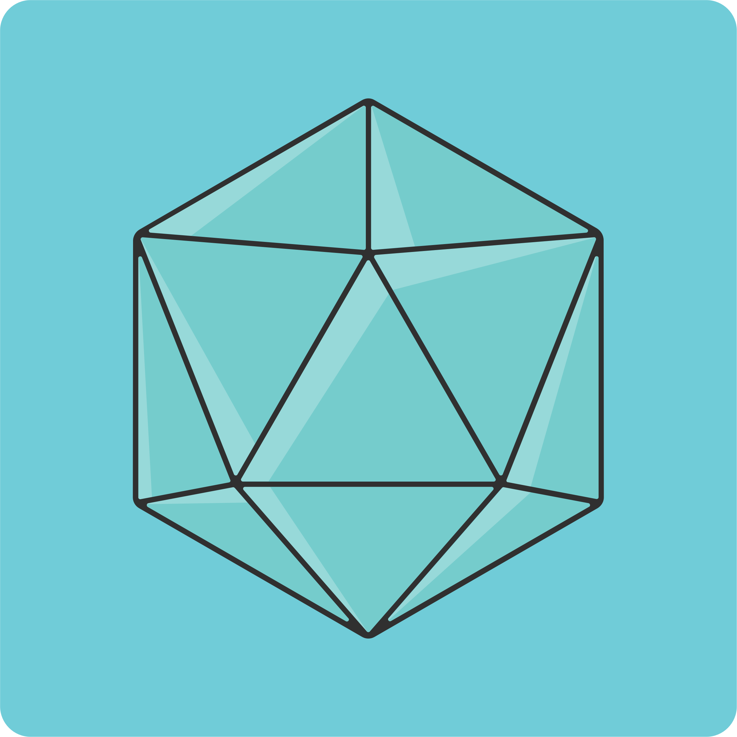 20 sided dice icon by cinemacookie