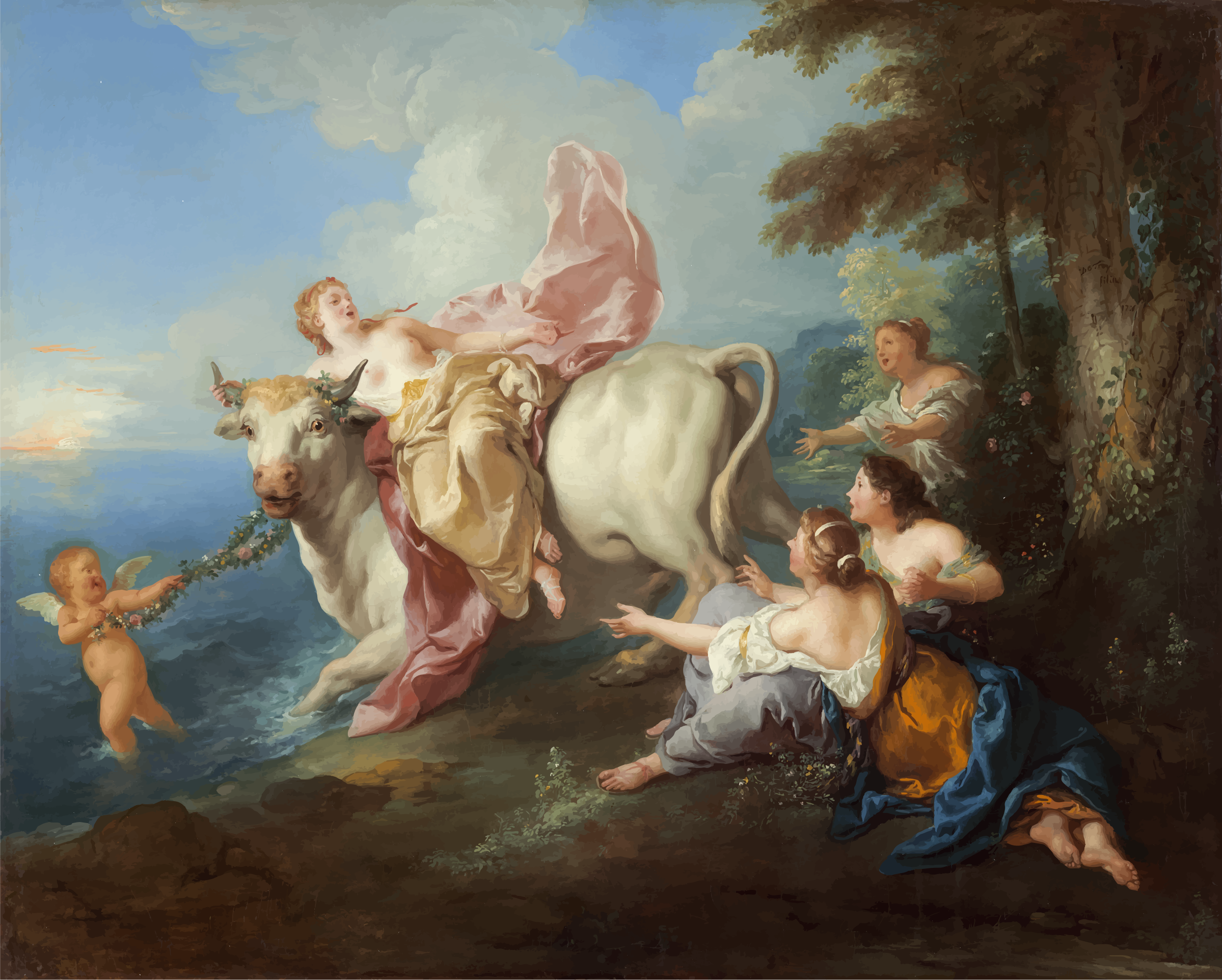 The Abduction of Europa by GDJ