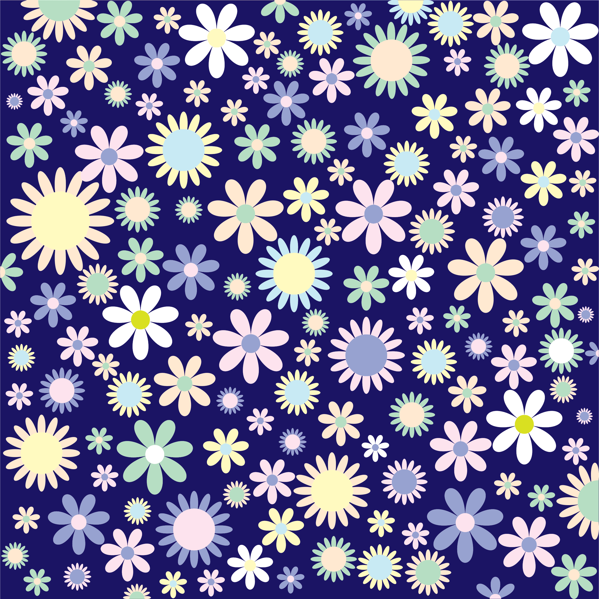 Floral Background by GDJ