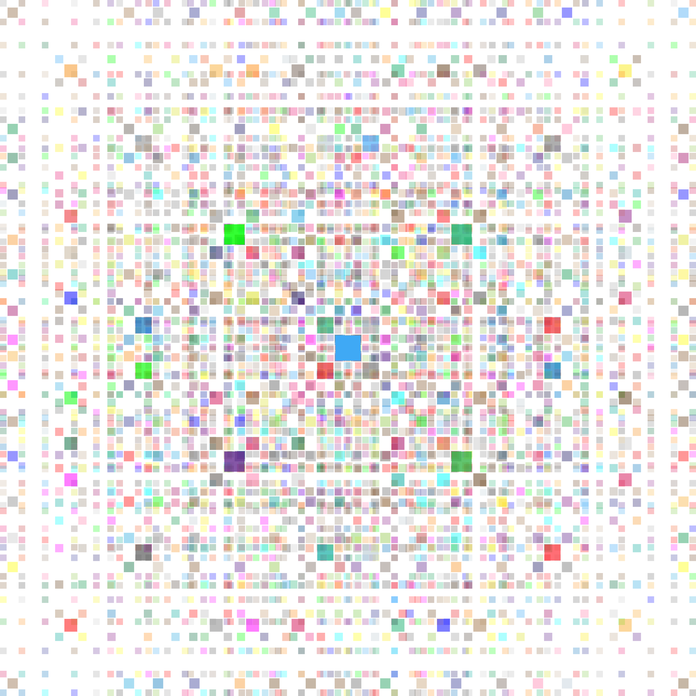 Colorful Square Fractal by GDJ