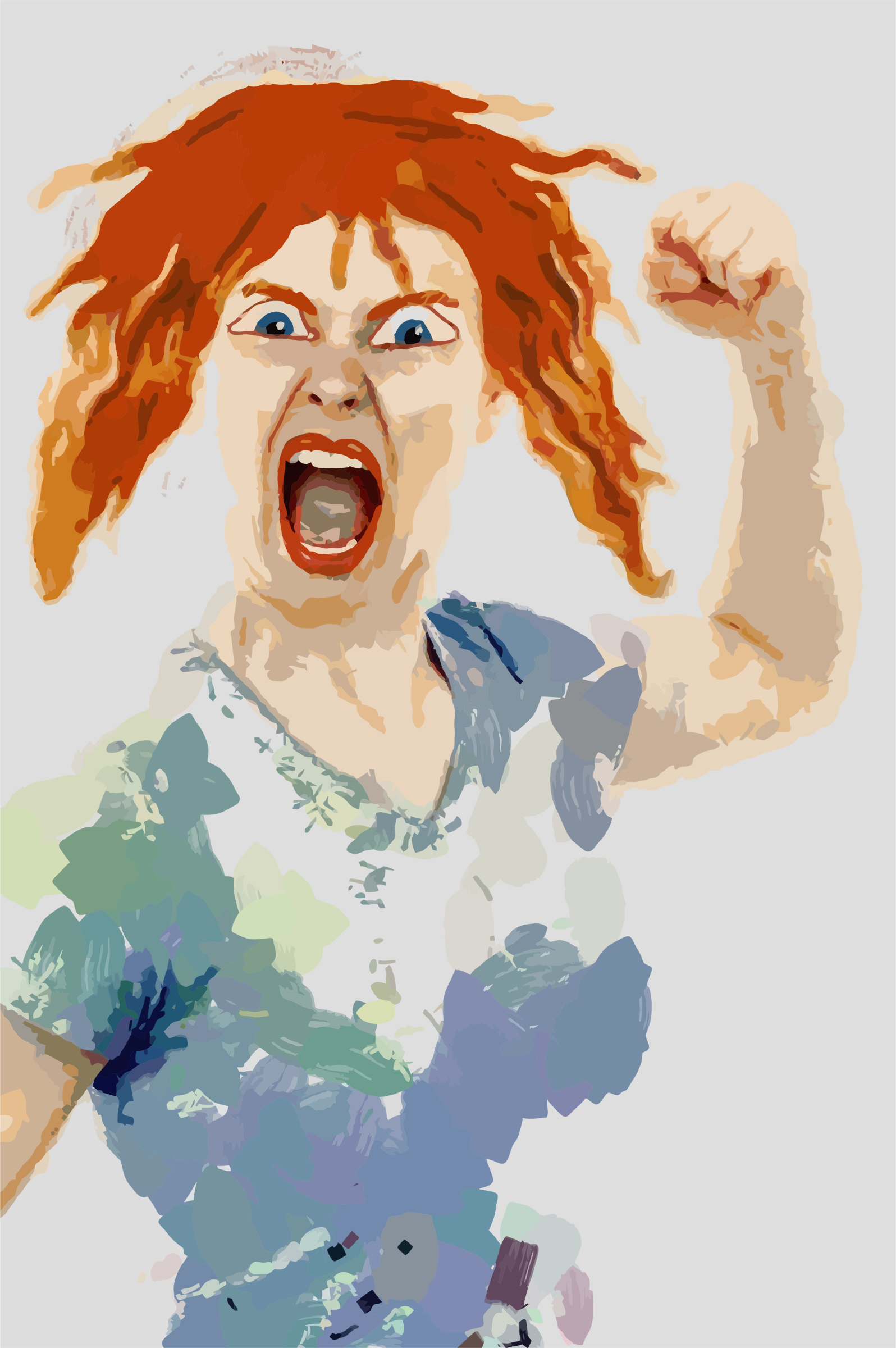 Very Angry Woman by GDJ