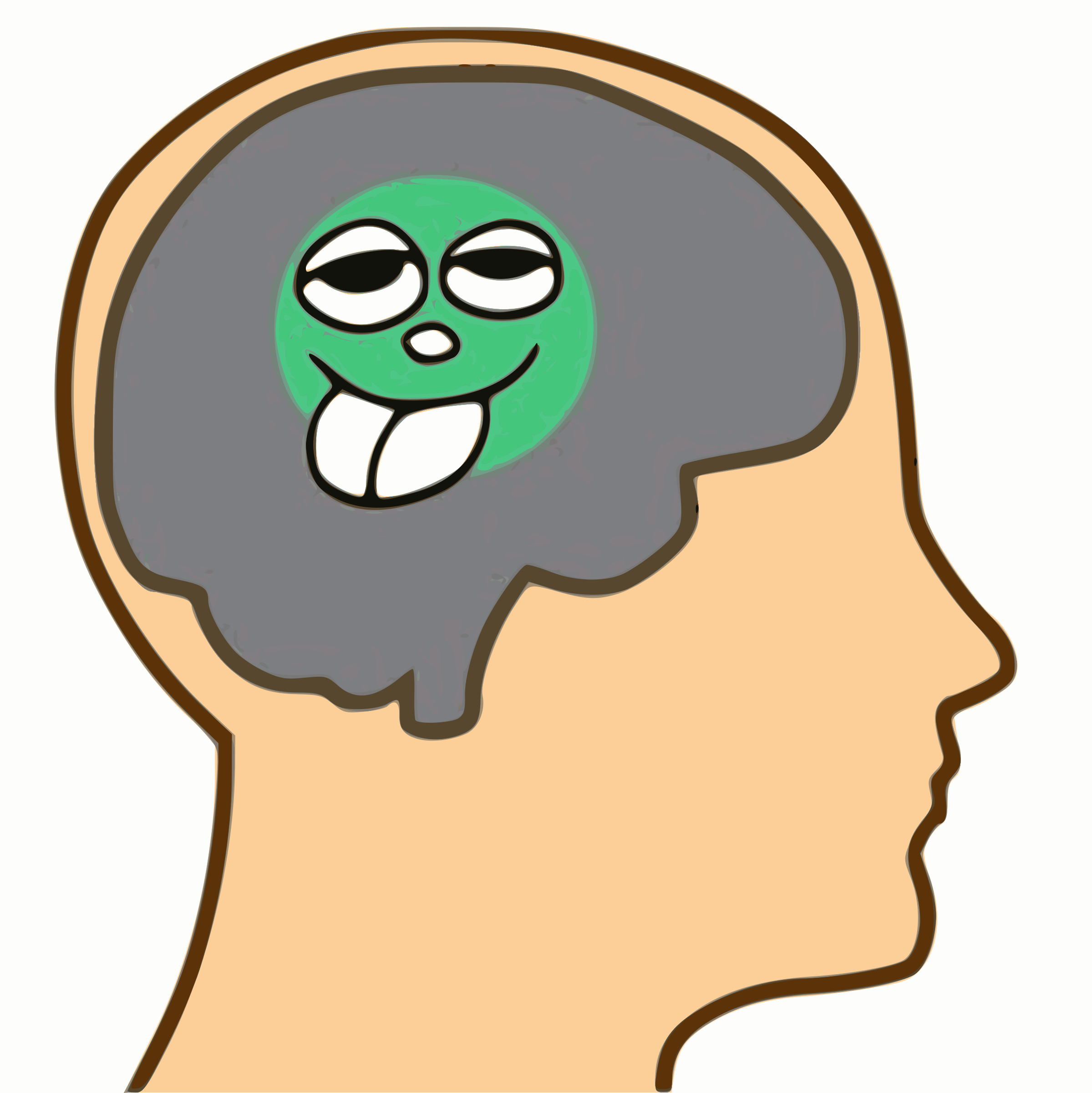Pea-sized brain by hefedute