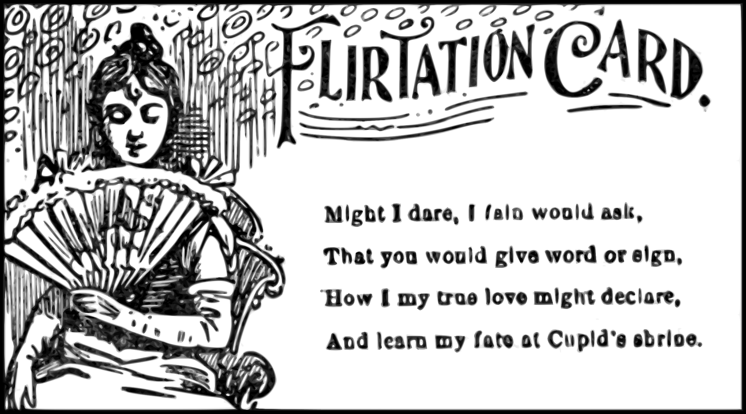 Flirtation Card by phidari