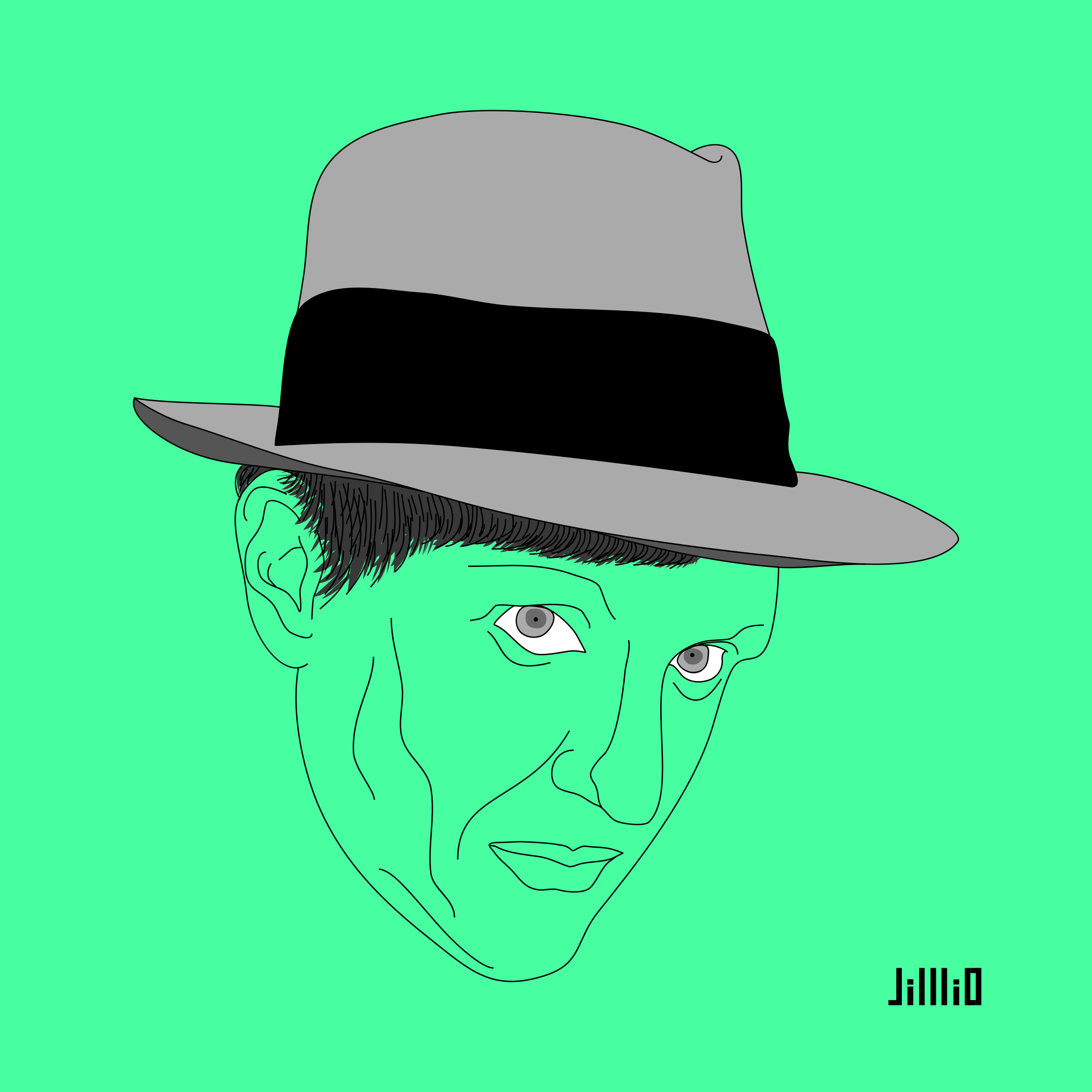 Robert Stack in Untouchables by jilllio