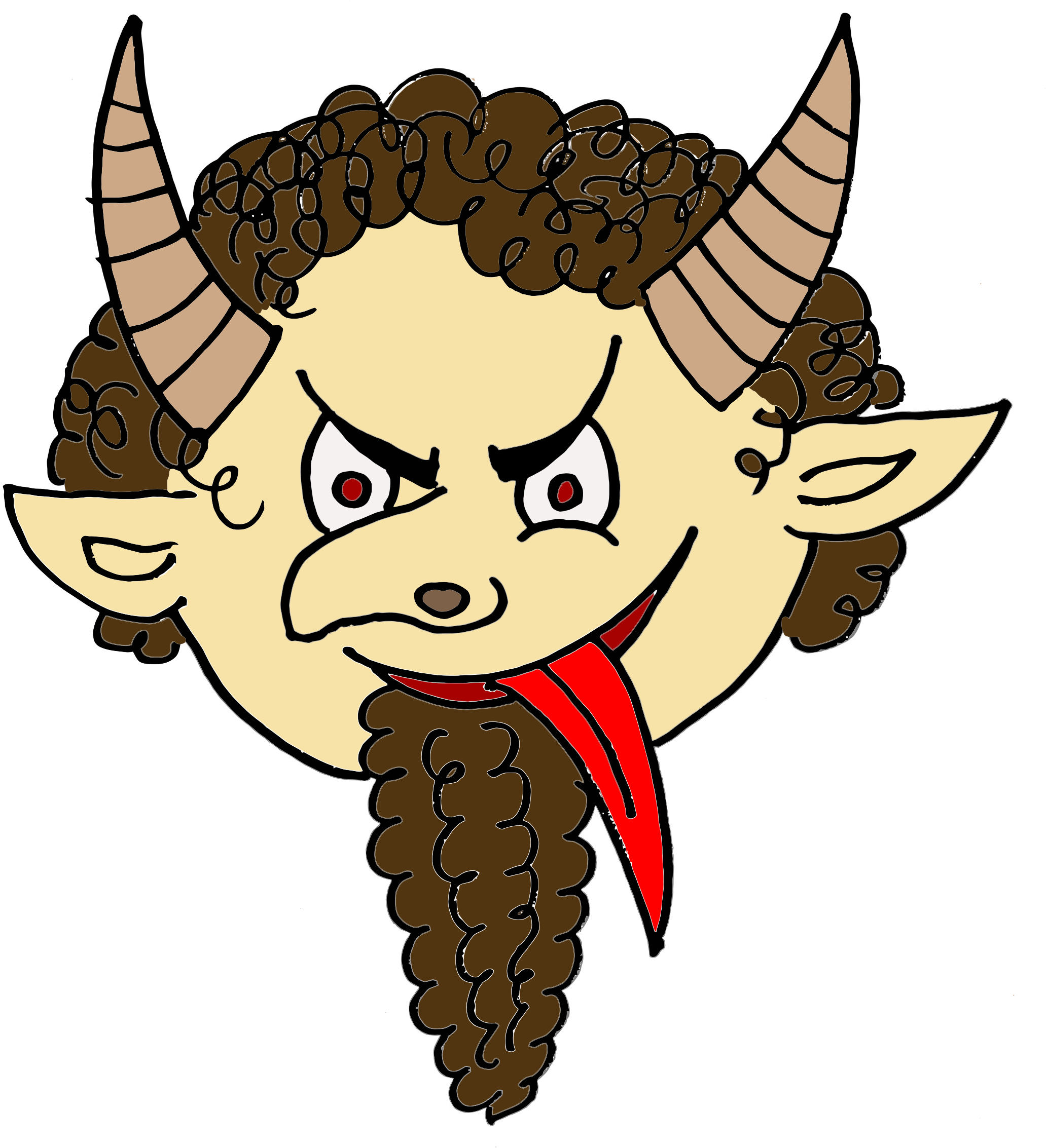 Cartoon Devil by GDJ