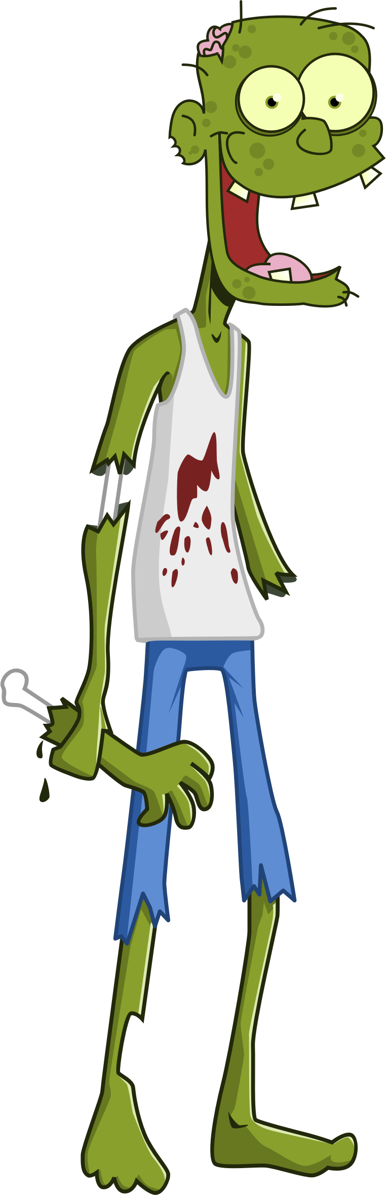 Cartoon Zombie by GDJ