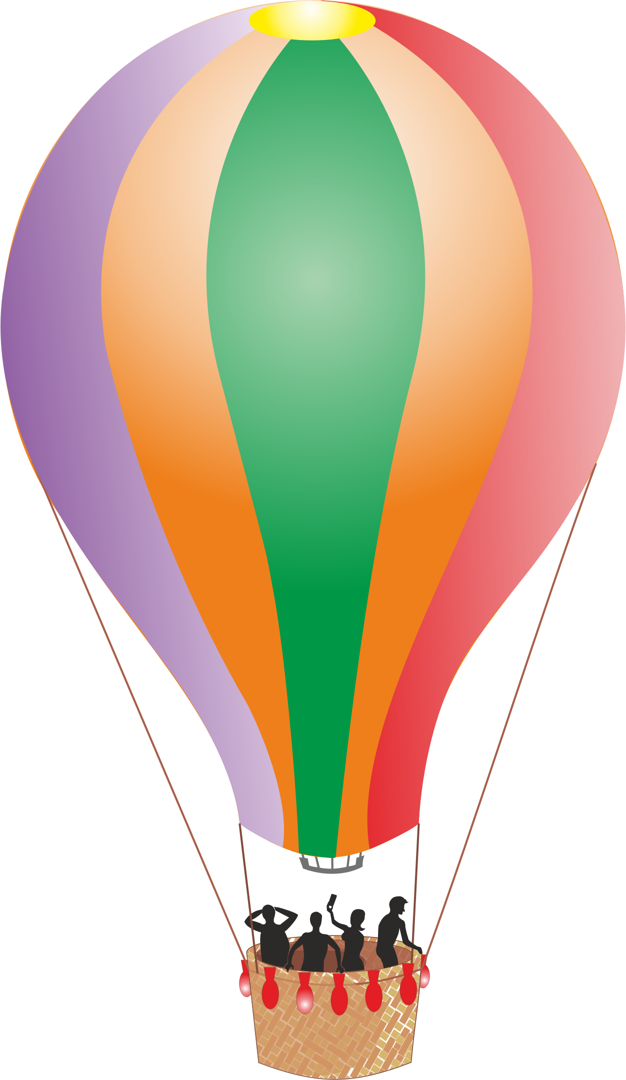 clipart colorful detailed hot air balloon clip art hot air balloon numbers clip art hot air balloon two people