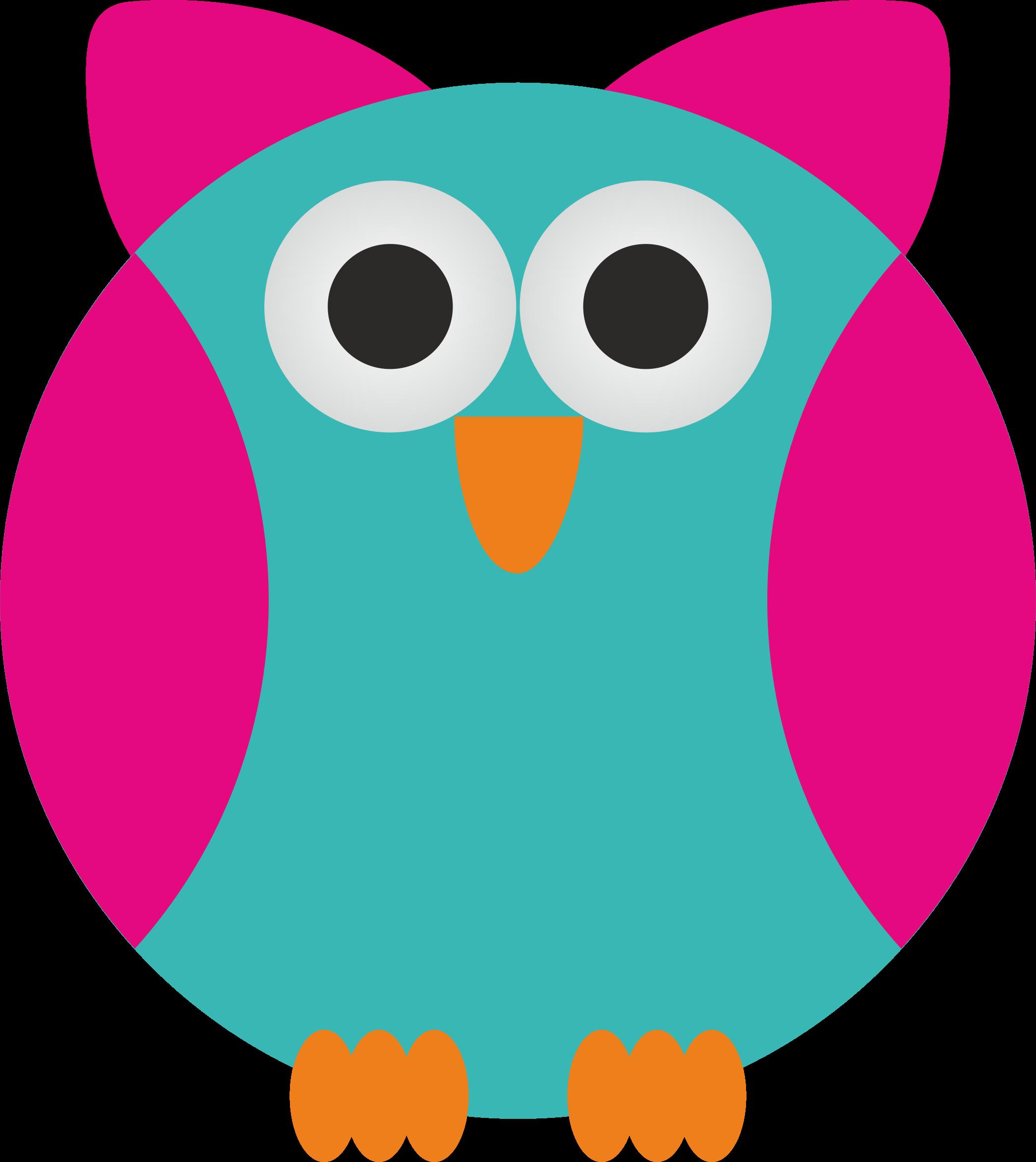 Clipart - Simple Owl