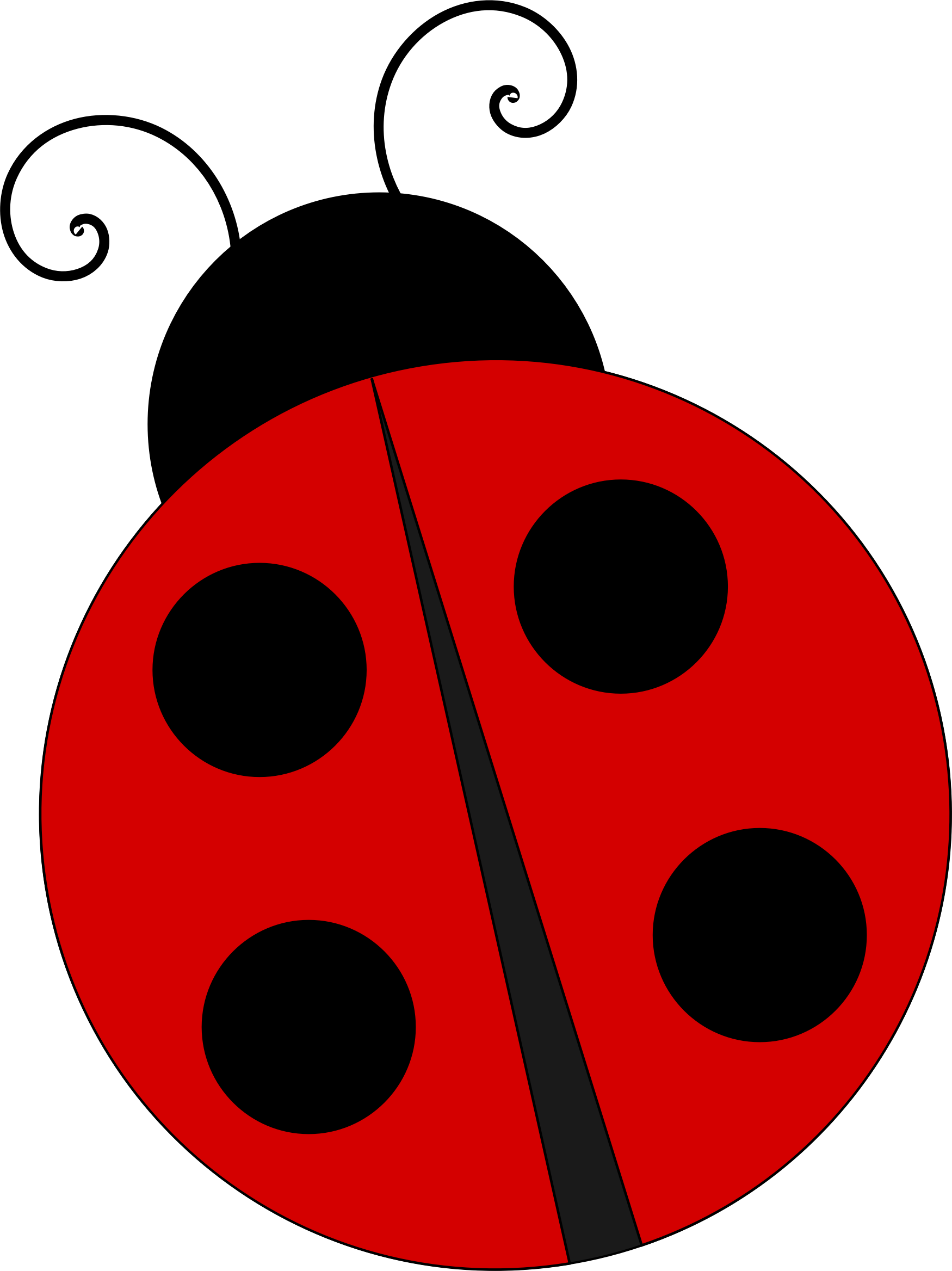 clipart ladybug rh openclipart org Butterfly Clip Art Ladybug Girl Clip Art